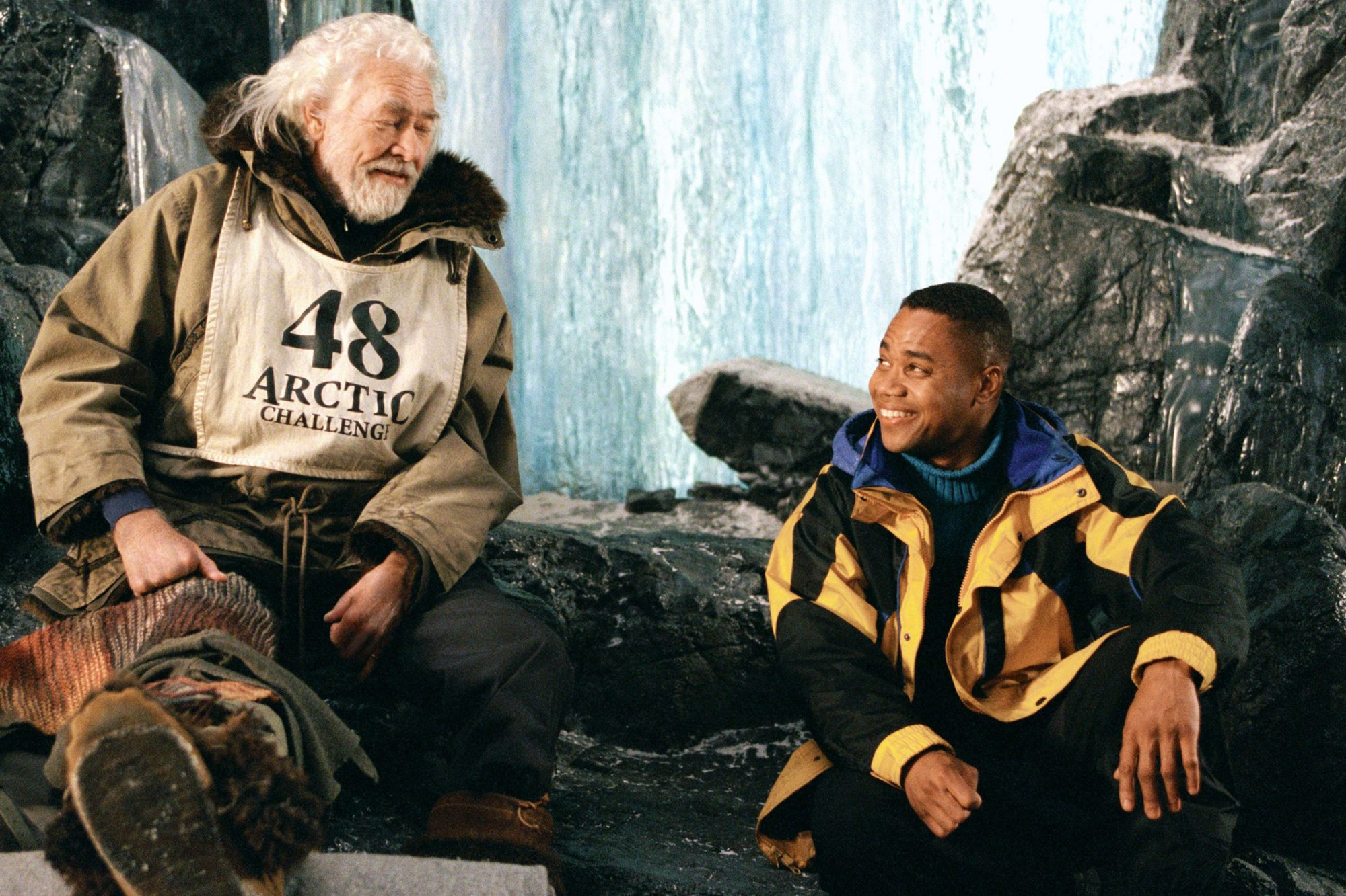 SNOW DOGS, James Coburn, Cuba Gooding Jr., 2002 (c) Walt Disney.  Courtesy Everett Collection.