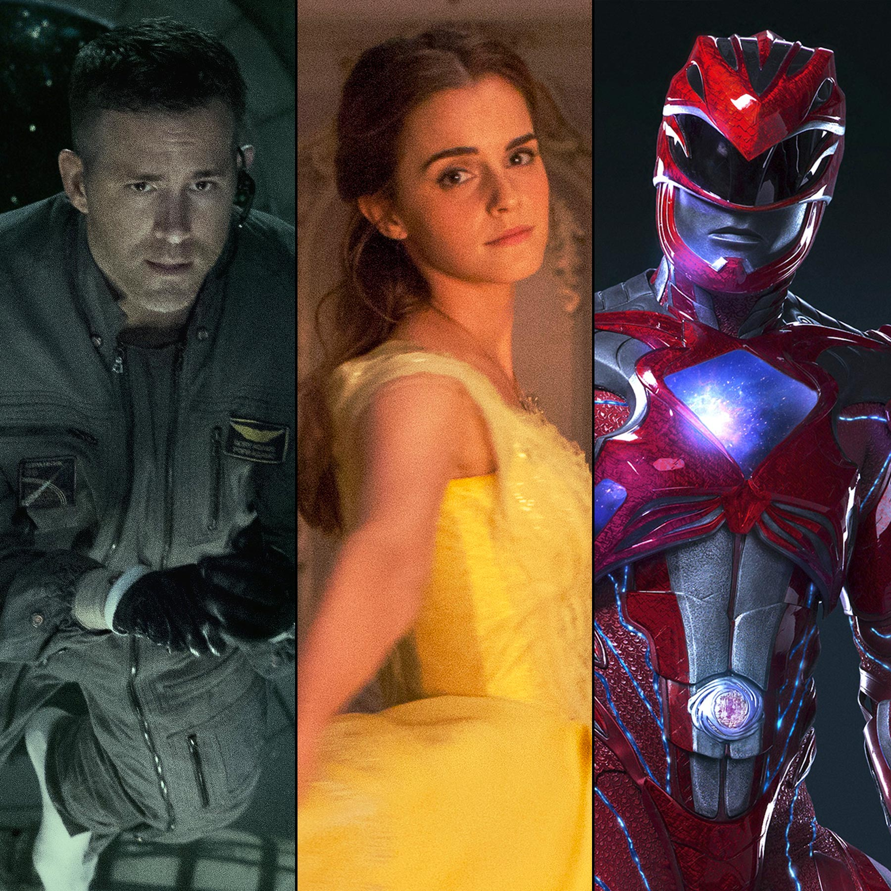 Beauty and the Beast , Life , Power Rangers