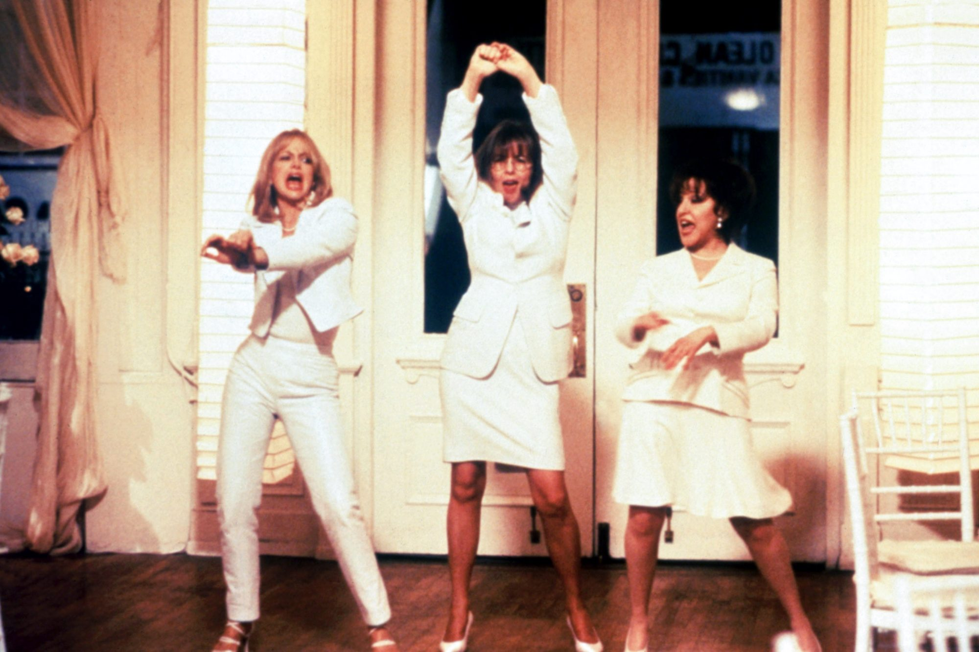 FIRST WIVES CLUB, Goldie Hawn, Diane Keaton, Bette Midler, 1996