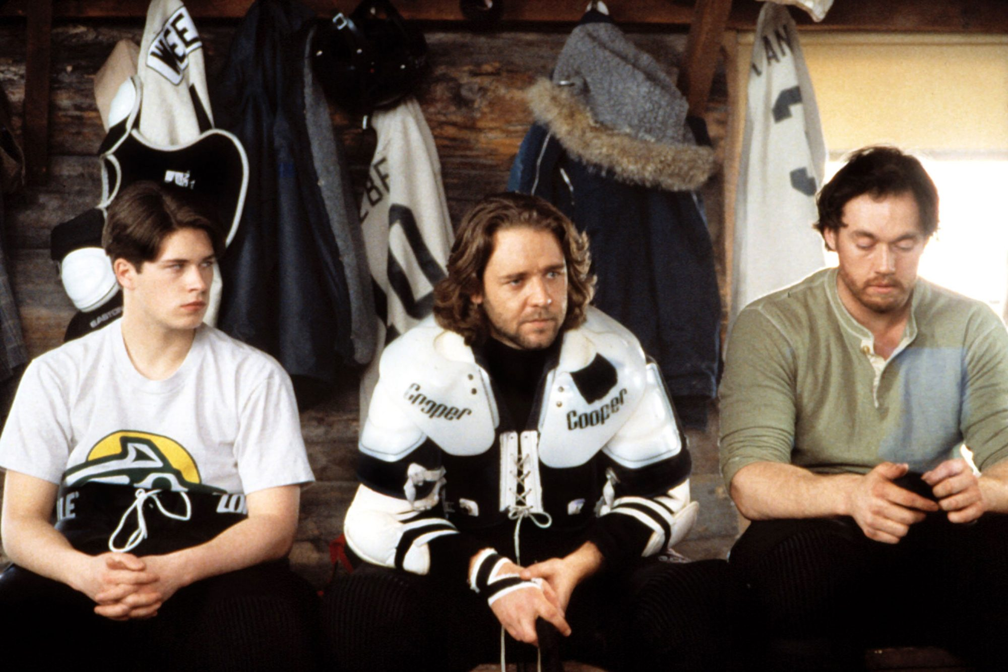 MYSTERY, ALASKA, Ryan Northcott, Russell Crowe, Kevin Durand, 1999