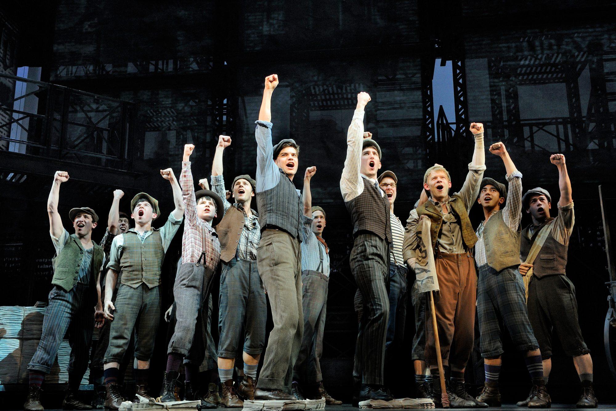 Newsies, the musical