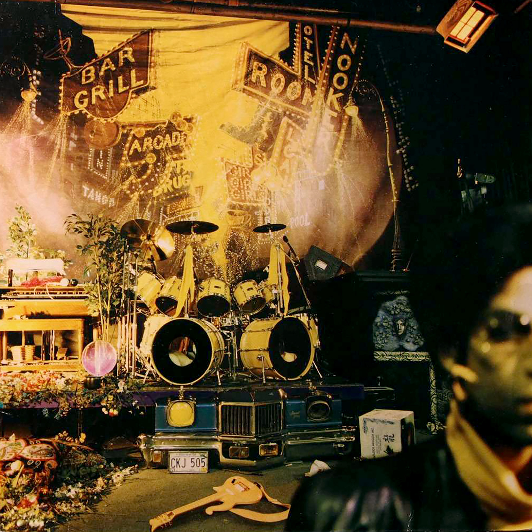 Prince Sign O times album cover