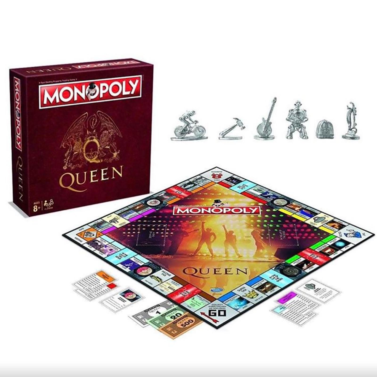 Queen Monopoly set