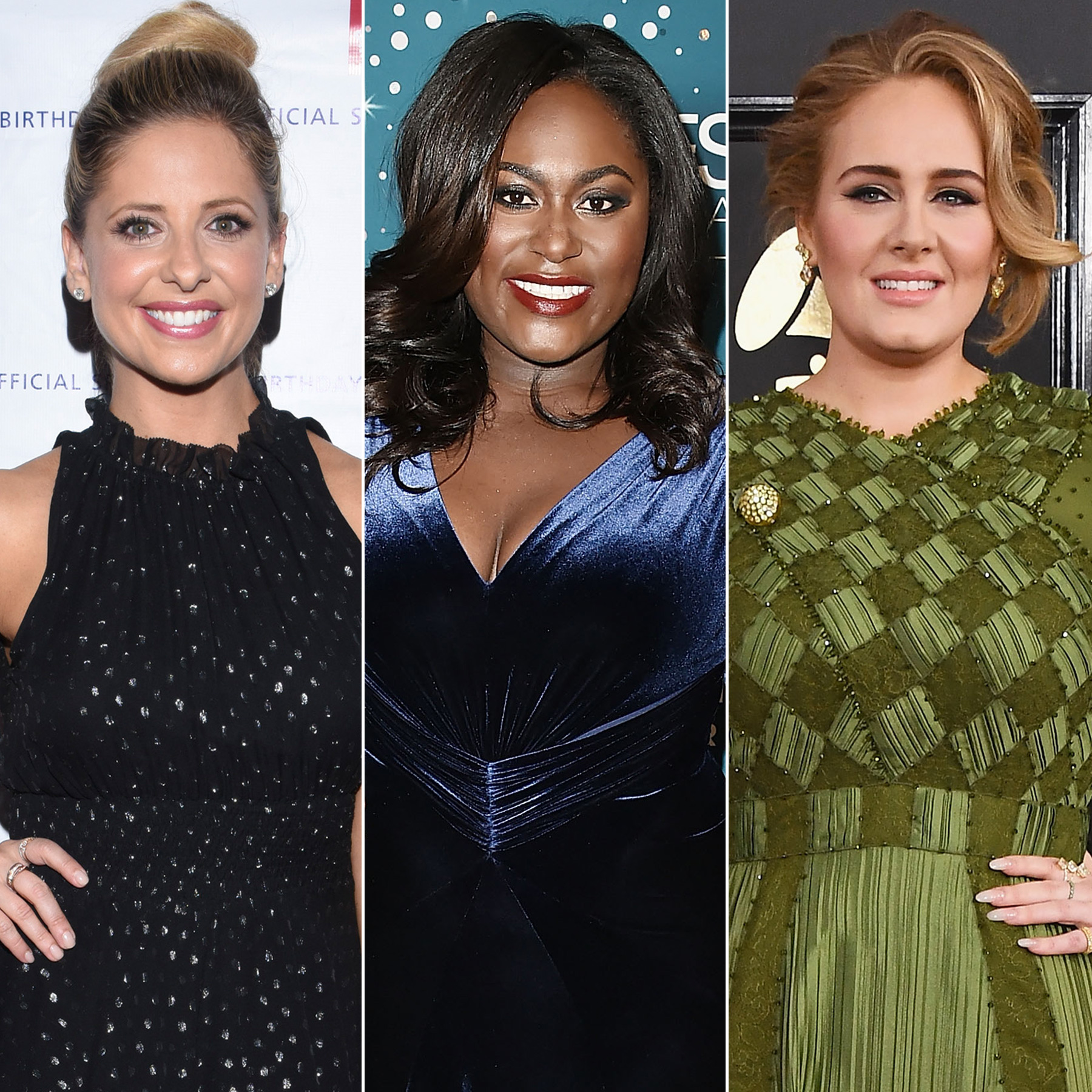 Sarah Michelle Gellar, Danielle Brooks and Adele