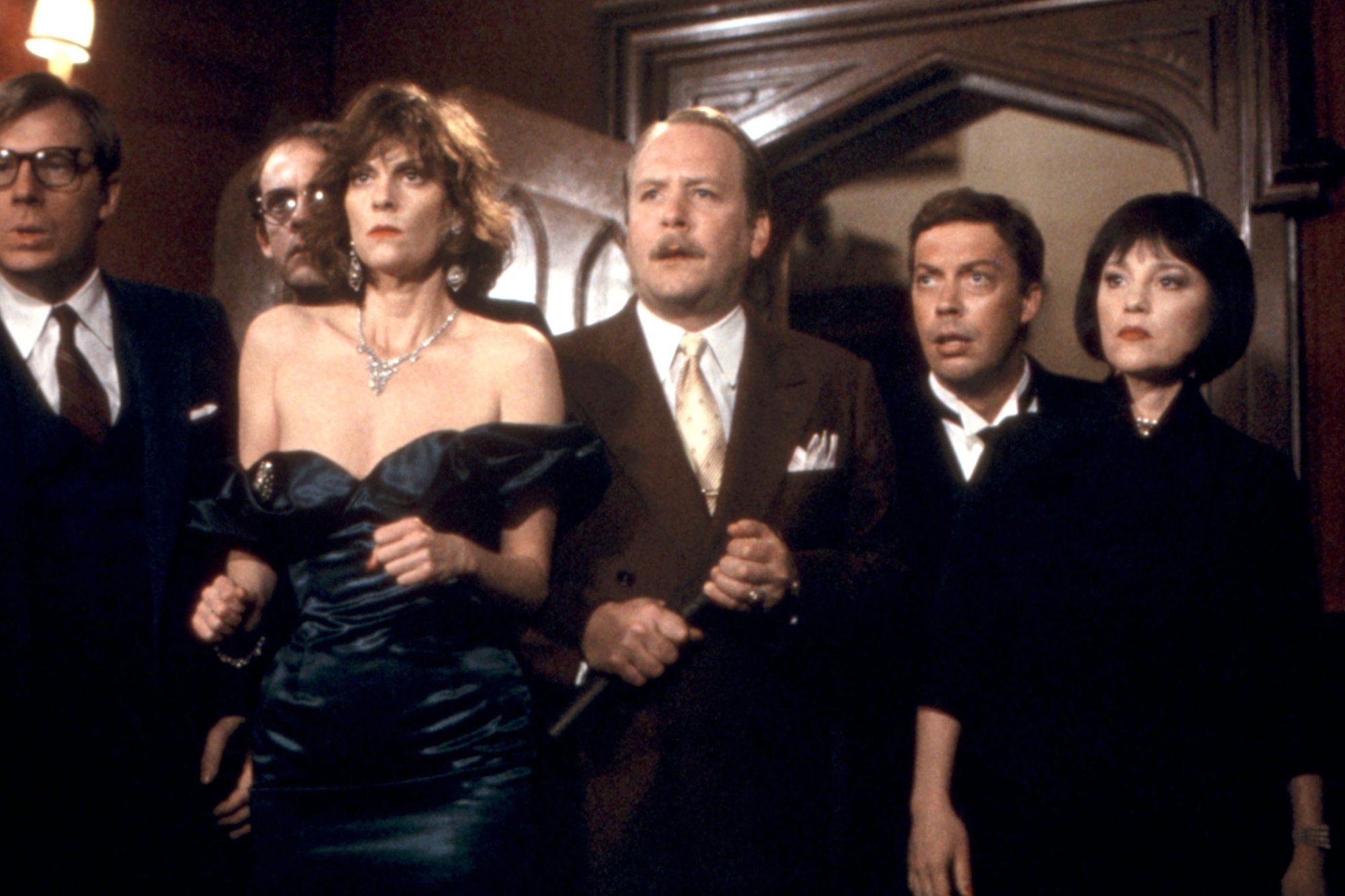 CLUE, Michael McKean, Christopher Lloyd, Lesley Ann Warren, Martin Mull, Tim Curry, Madeline Kahn, 1