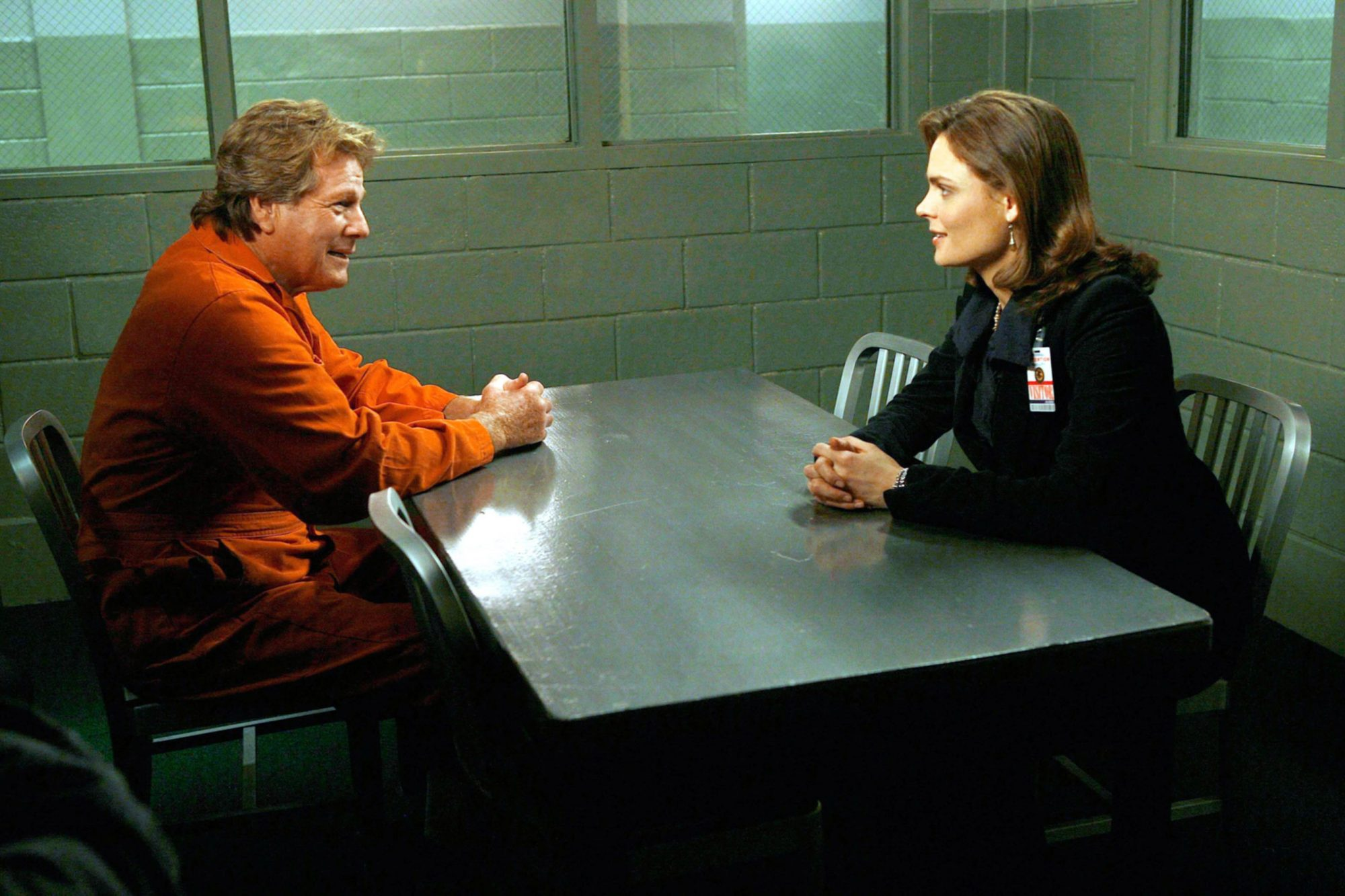 BONES, Ryan O'Neal, Emily Deschanel, 'The Knight On The Grid', (Season 3, aired Nov. 20, 2007), 2005