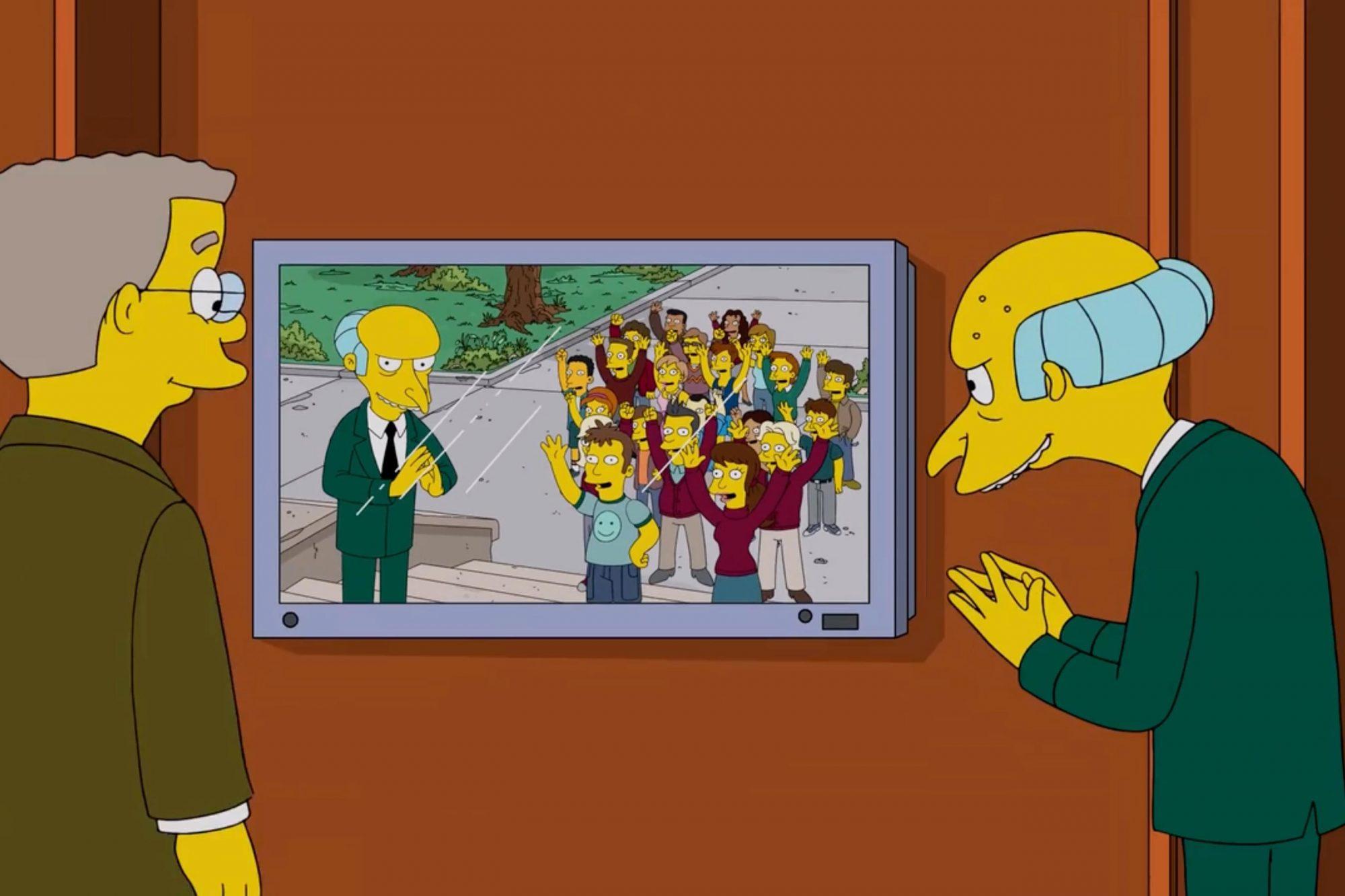 The Simpsons (screen grab) CR: Fox