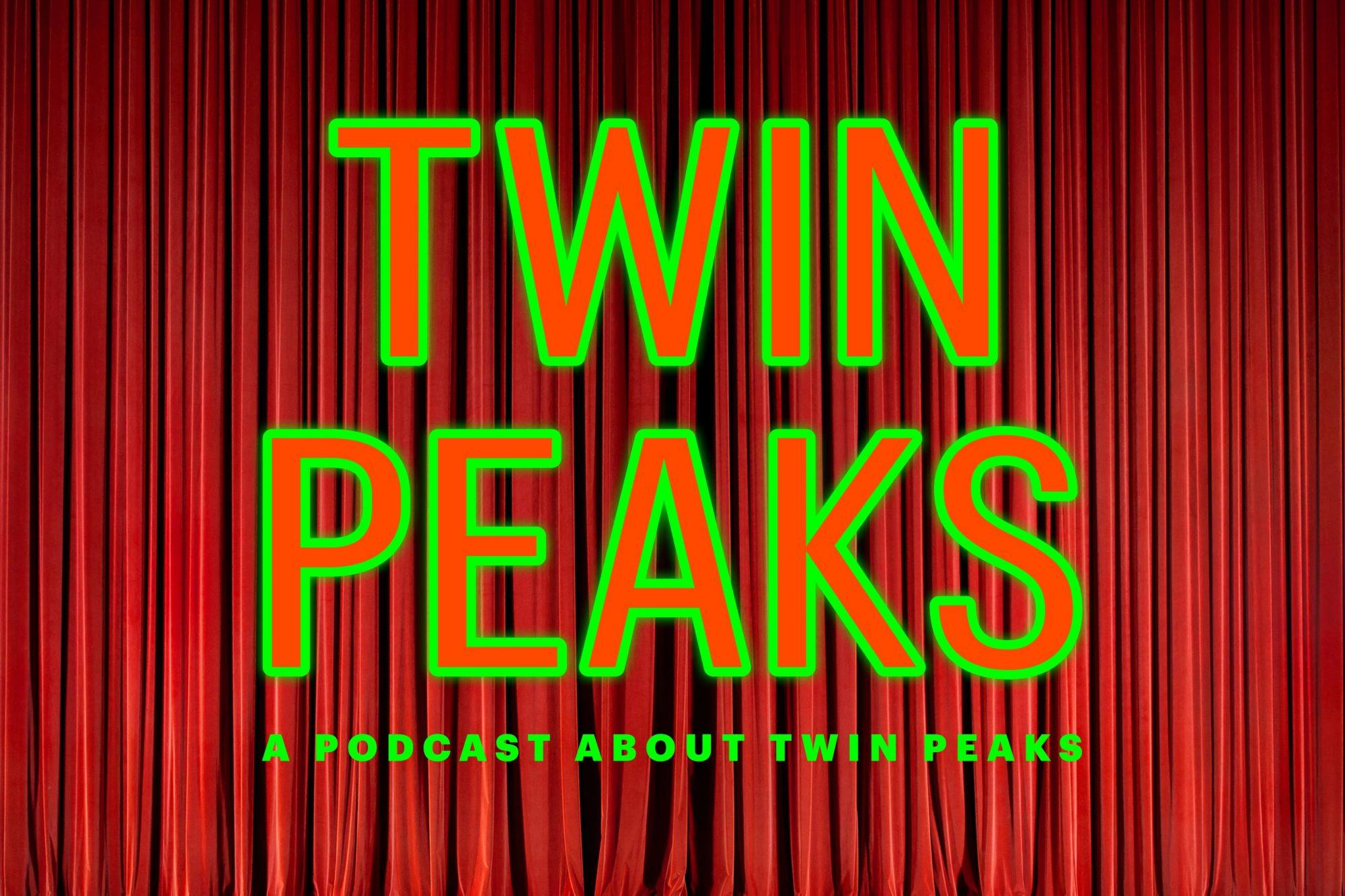 Twin Peaks Podcast logo