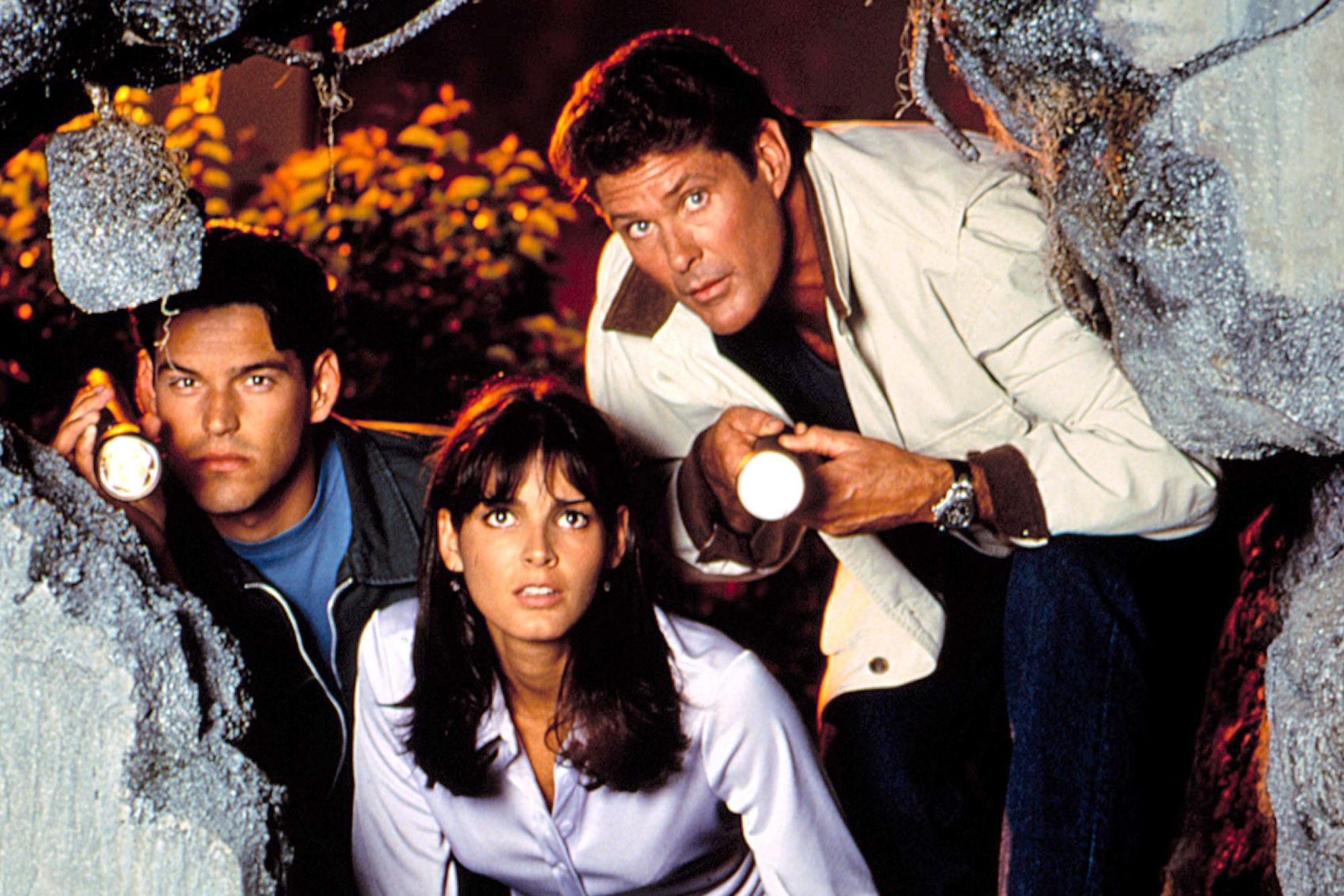 BAYWATCH NIGHTS, Eddie Cibrian, Angie Harmon, David Hasselhoff, 1995-97. © All American Television /
