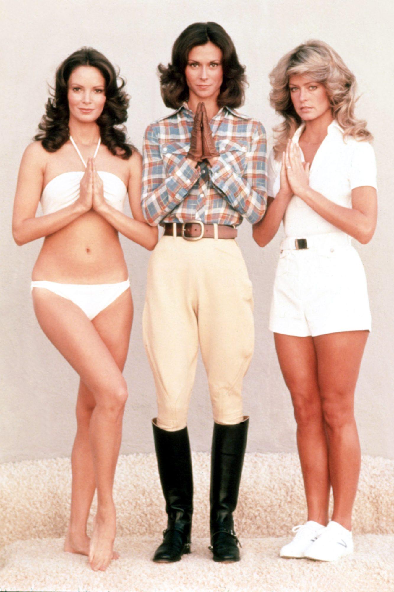 CHARLIE'S ANGELS, Jaclyn Smith, Kate Jackson, Farrah Fawcett, 1976-1981