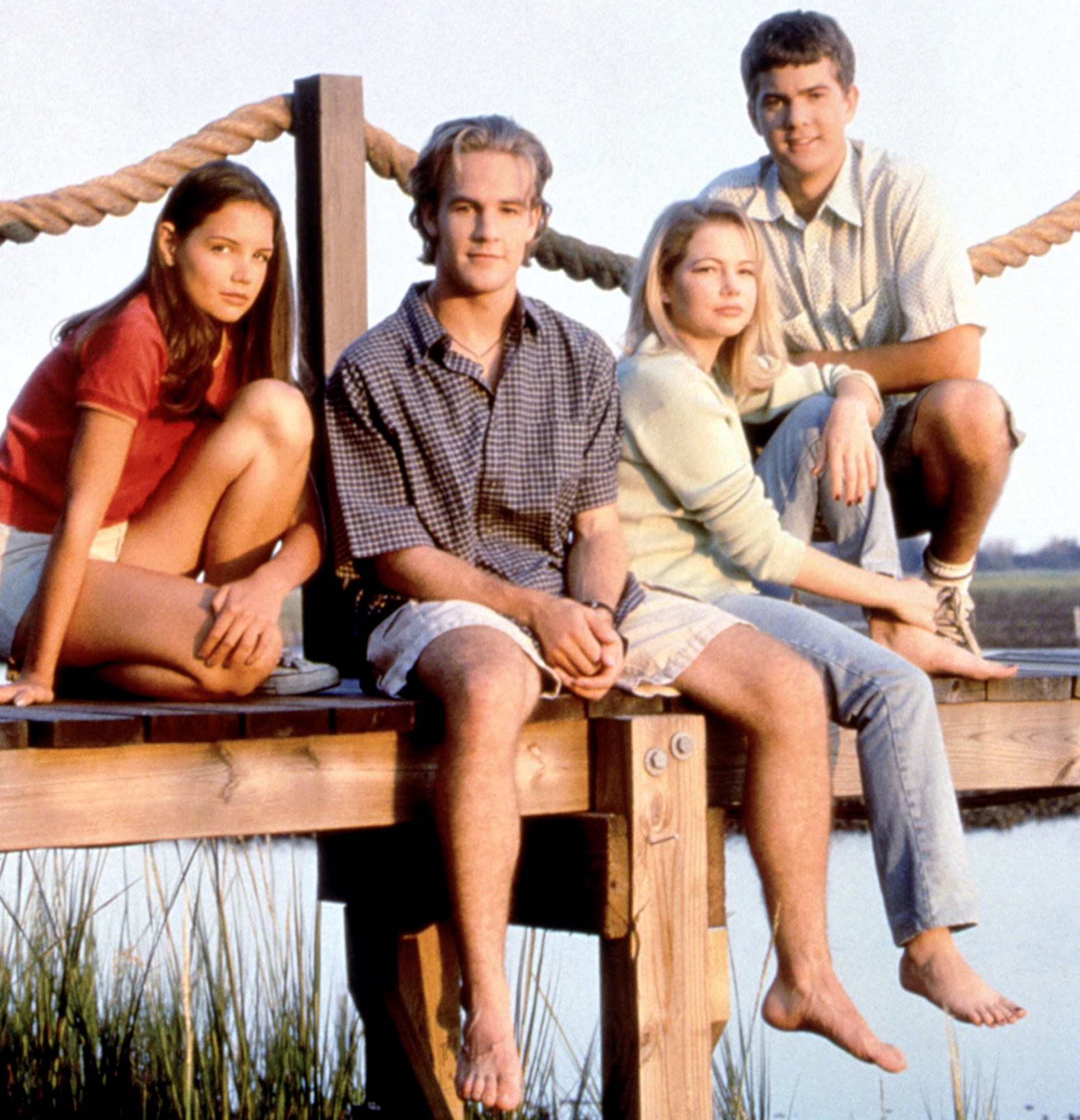 DAWSON'S CREEK, Katie Holmes, James Van Der Beek, Michelle Williams, Joshua Jackson, (Season 1), 199