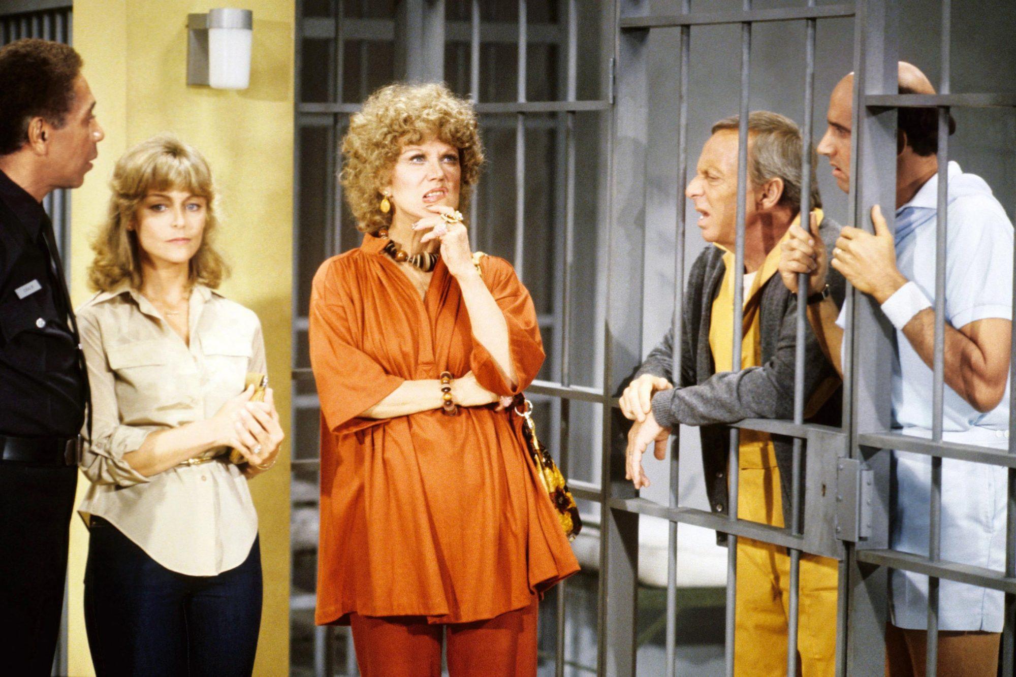 THE ROPERS, l-r: Patricia McCormack, Audra Lindley, Norman Fell, Jeffrey Tambor, 1979-80