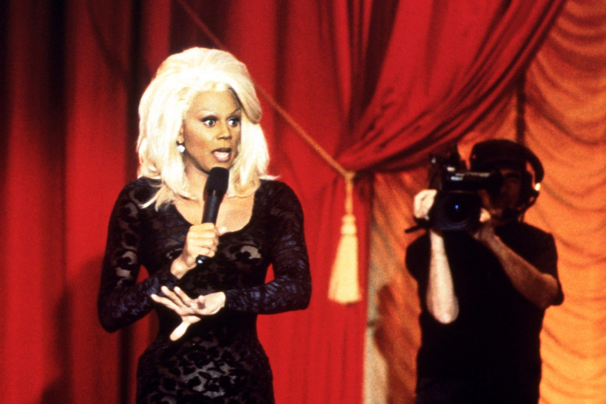 THE RUPAUL SHOW, RuPaul, 1996-98. © VH1 / Courtesy: Everett Collection