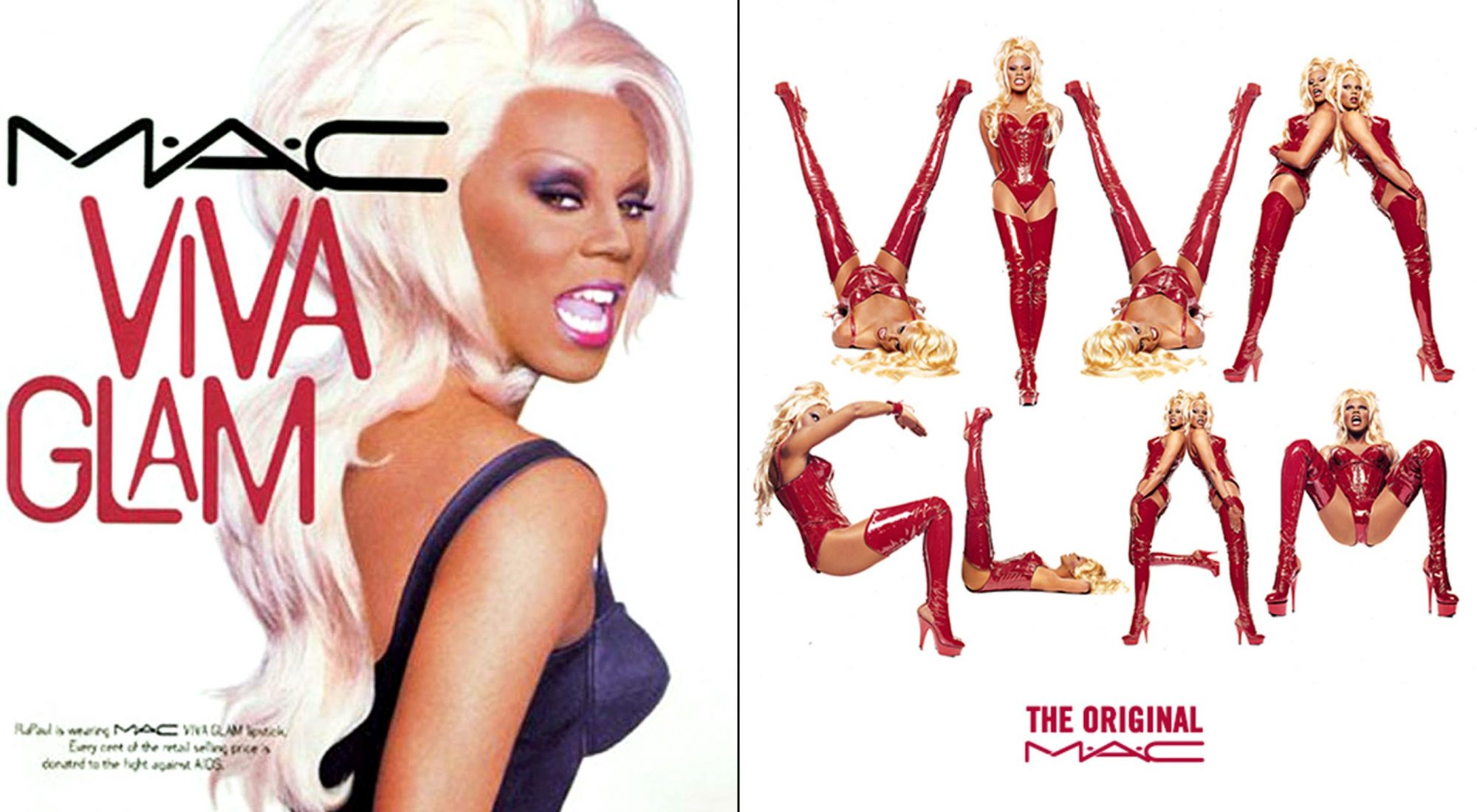 Rebooted the Viva Glam Campaign in 2013 in Support of the MAC AIDS Fund