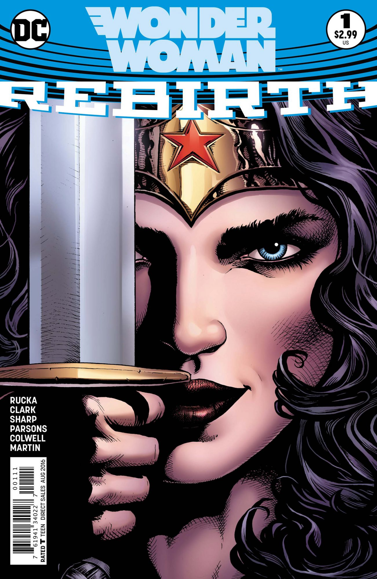 Wonder Woman DC Rebirth