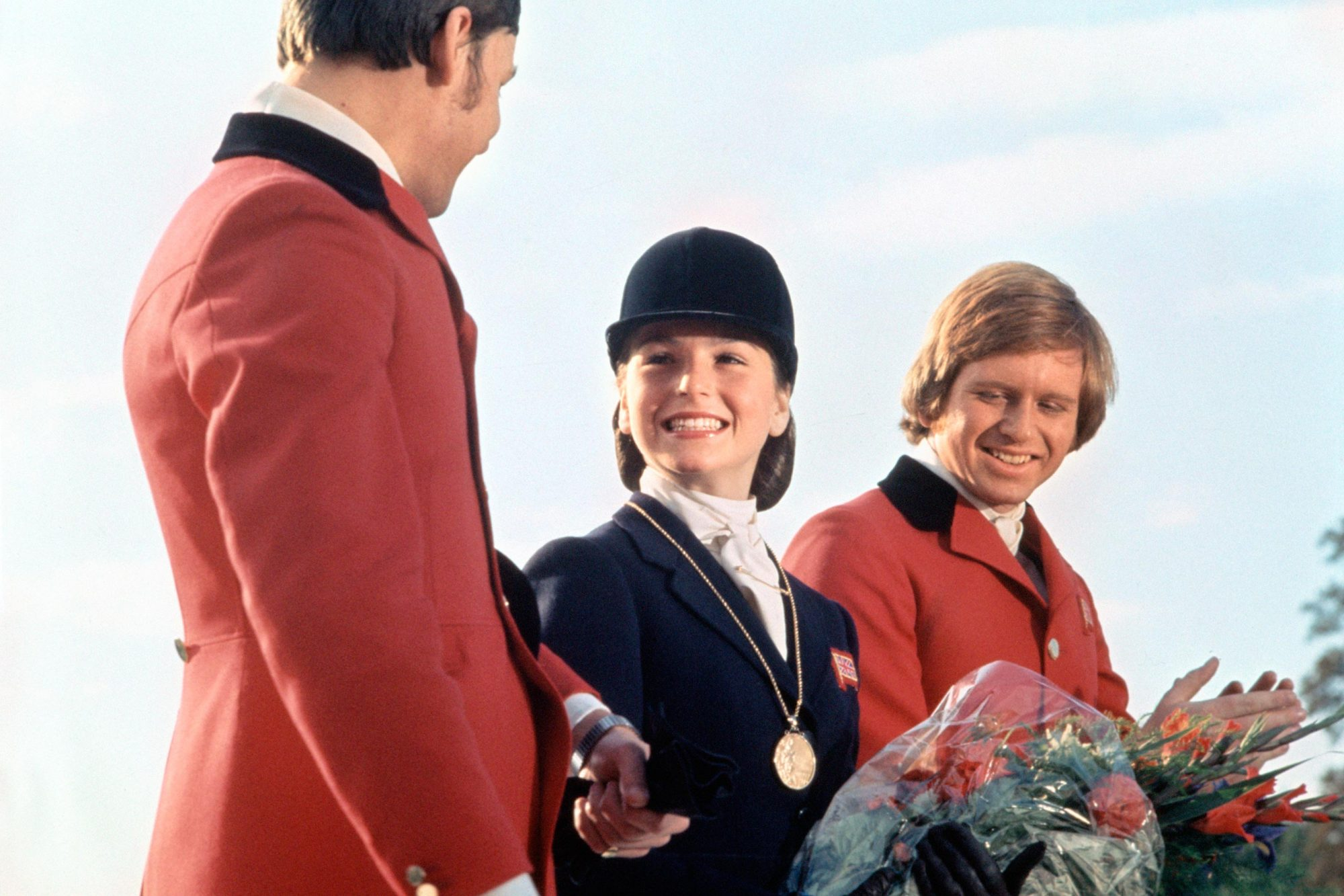 Tatum O'Neal and Martin Neil in International Velvet