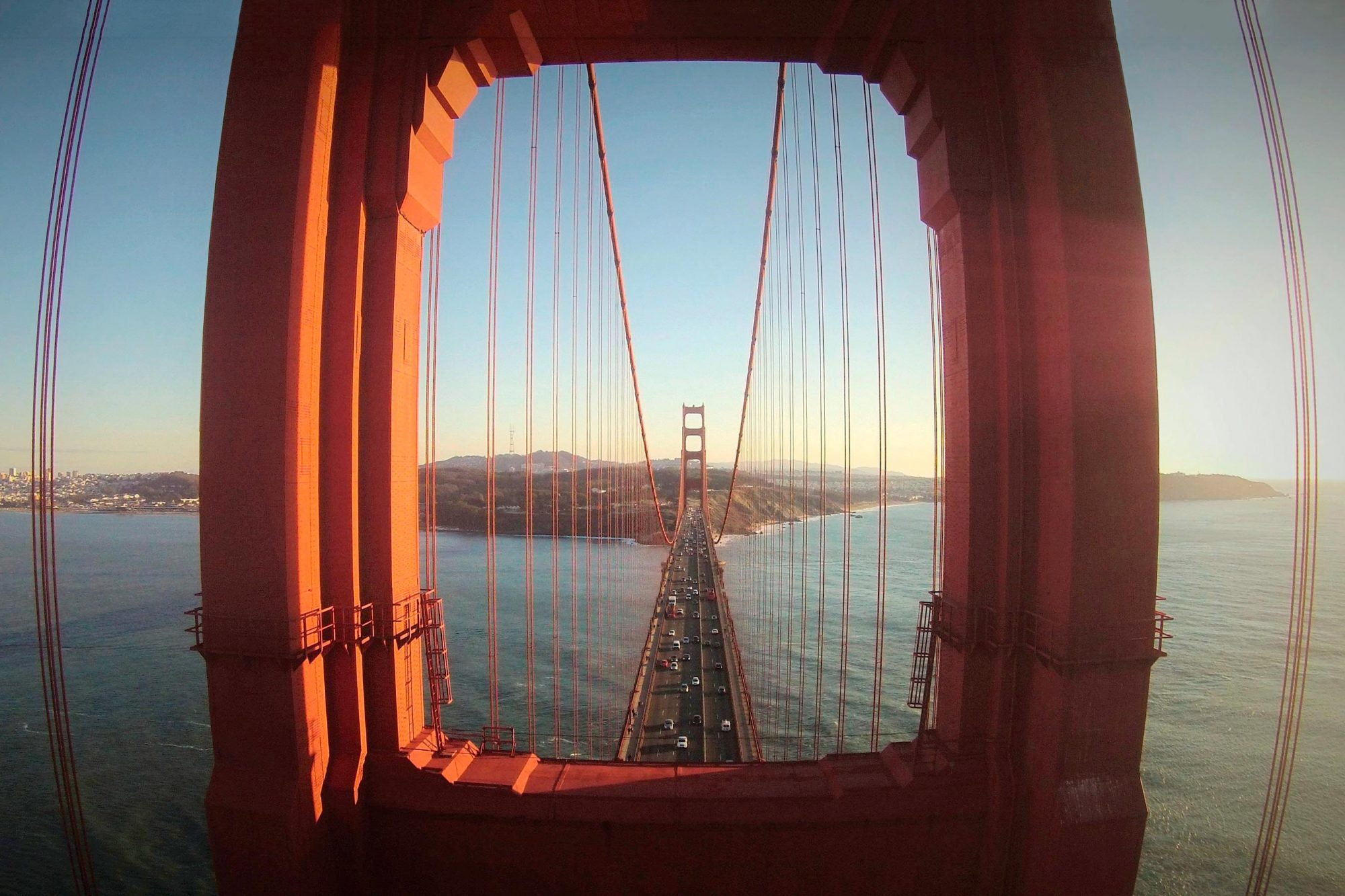 The Golden Gate Bridge, San Francisco