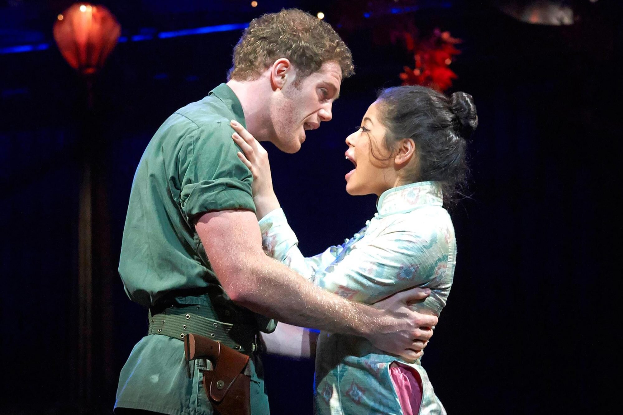 Miss Saigon On Broadway Review Ew Com
