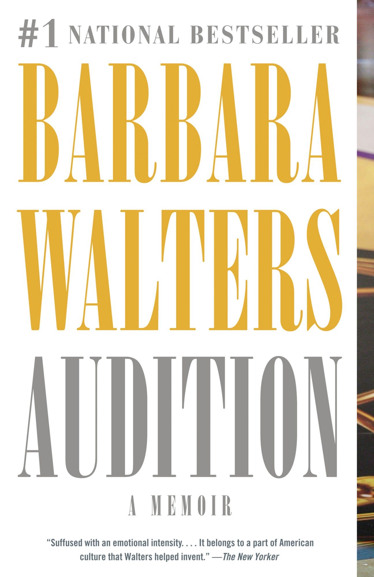 Audition: A Memoir (5/5/2009)by Barbara Walters