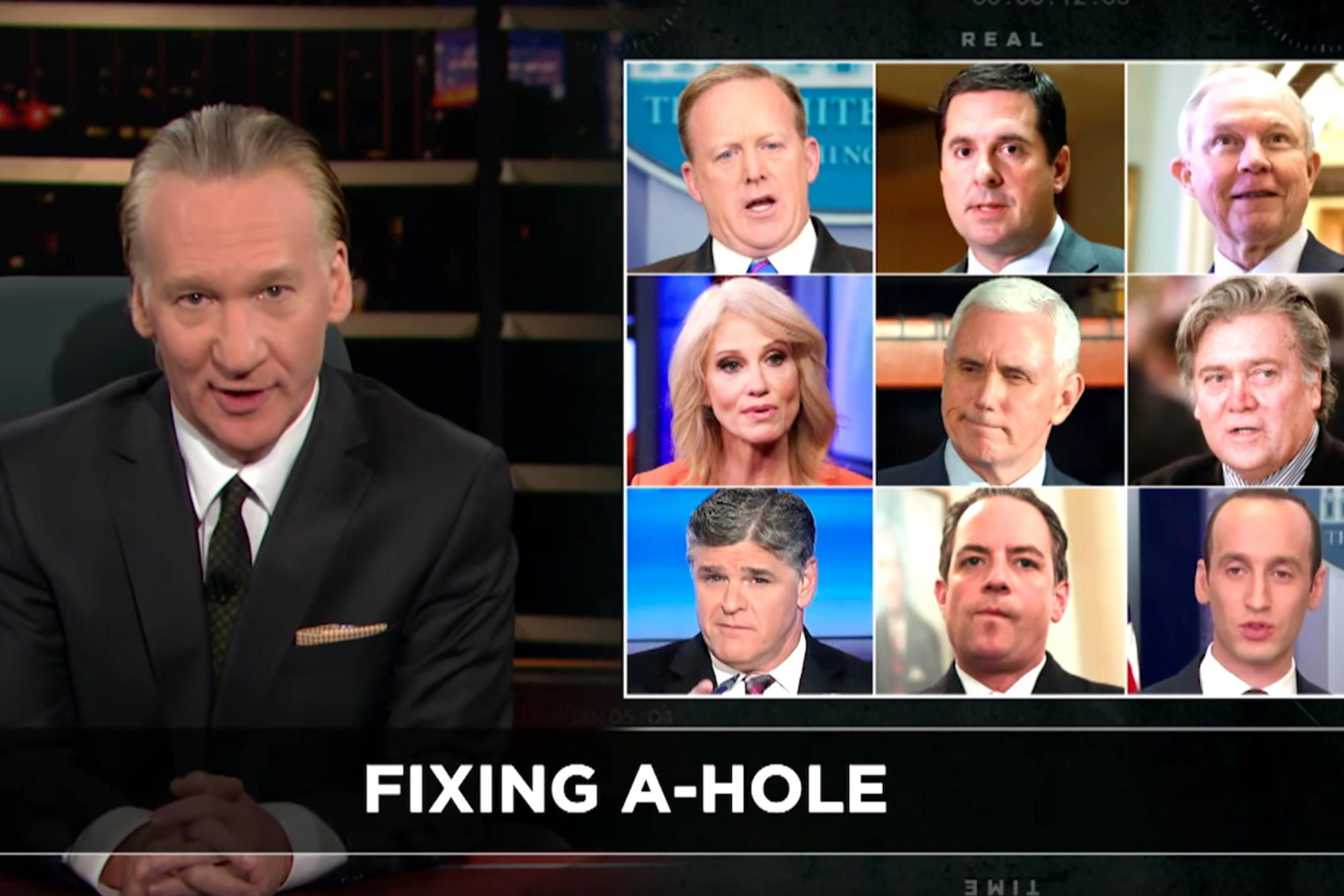 New Rule: Trump's EnablersReal Time with Bill Maher (screen grab) CR: HBO