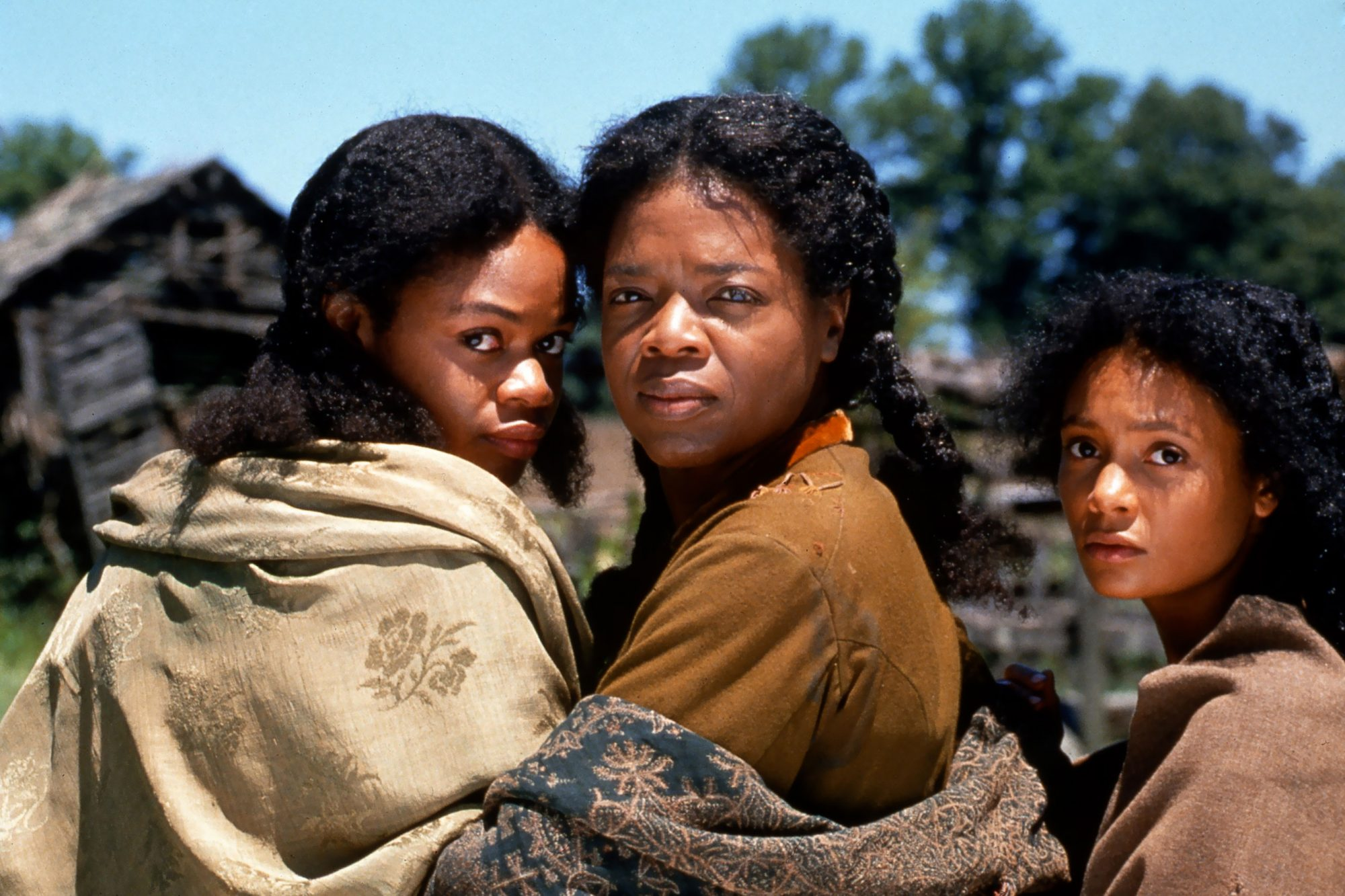 Beloved (1998)L-R Kimberly Elise, Oprah Winfrey and Thandie Newton