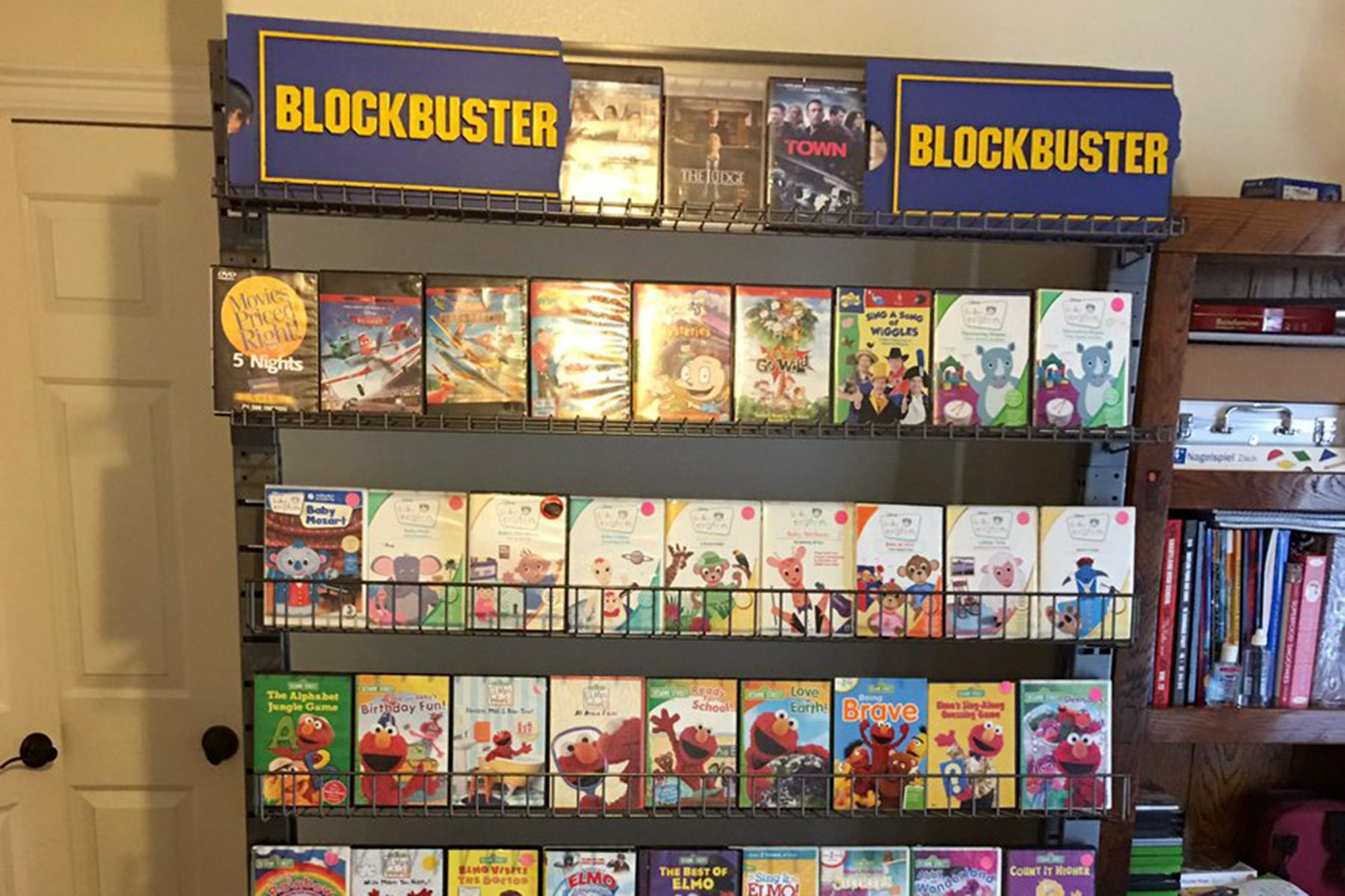 Blockbuster library