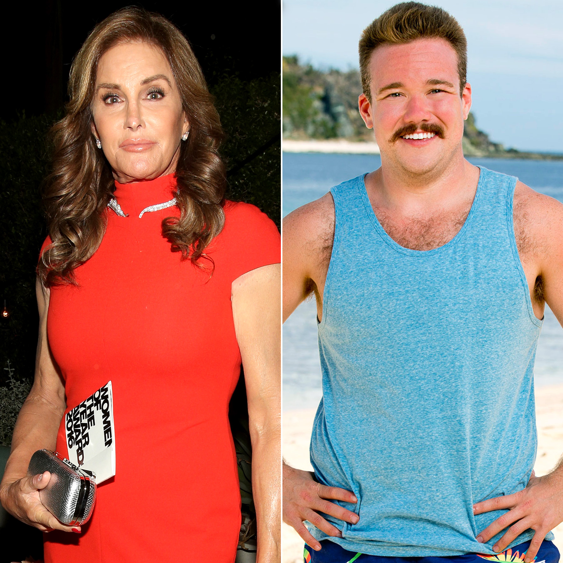 Caitlyn Jenner and Zeke Smith