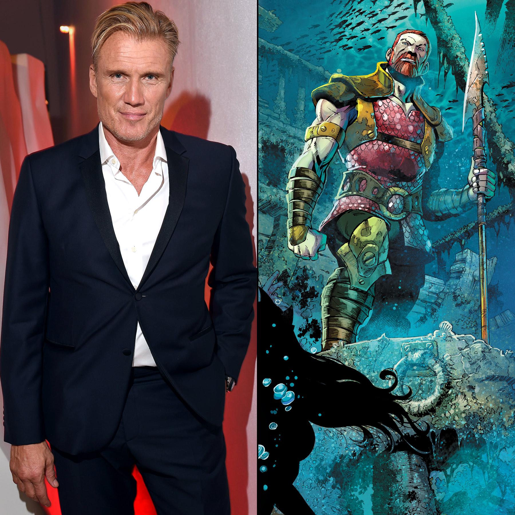Dolph Lundgren, Nereus in Aquaman