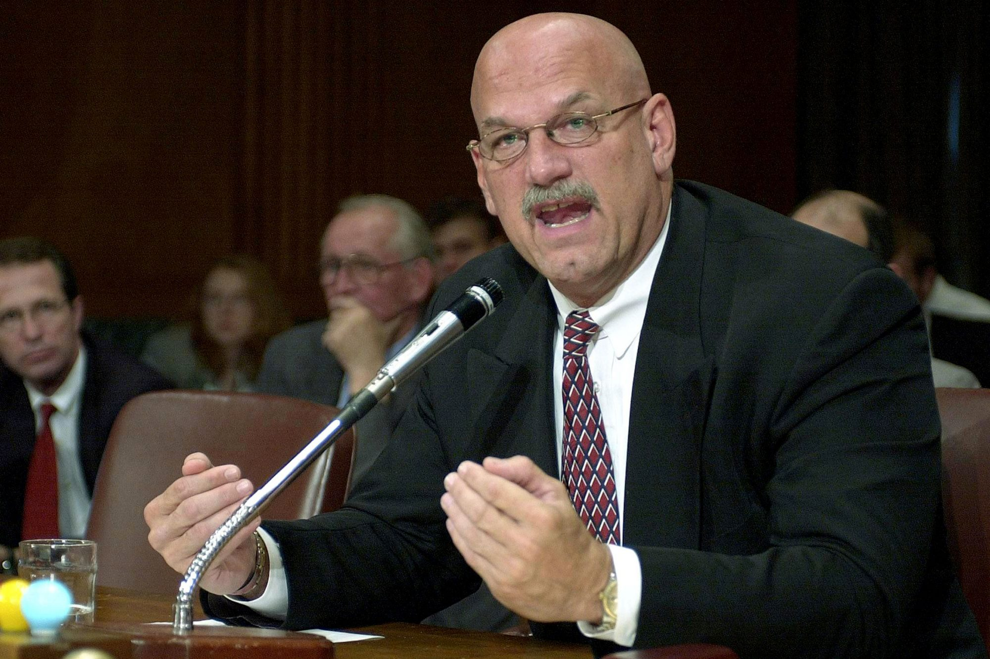 Minnesota Governor Jesse Ventura testifies before