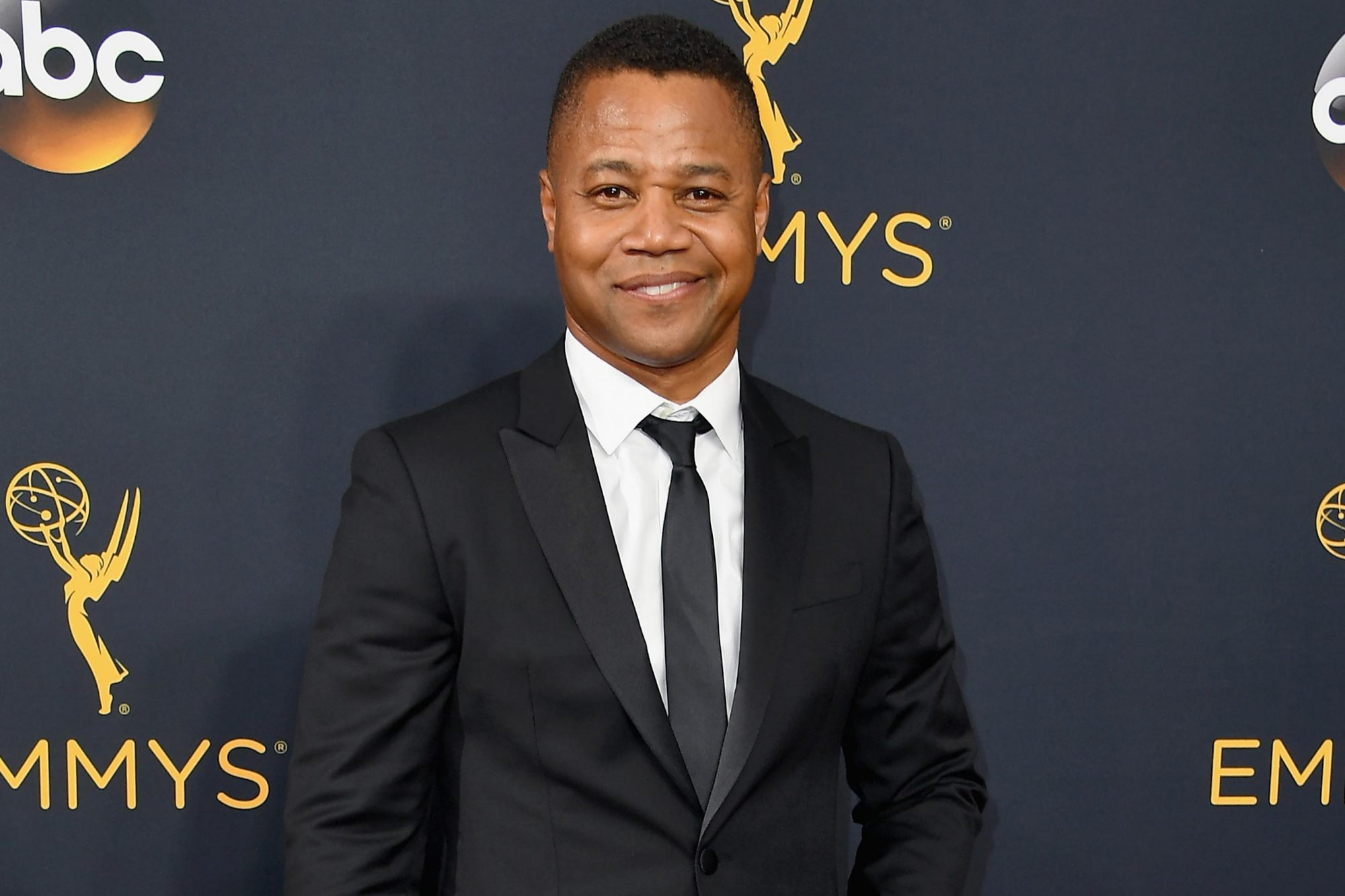 Cuba Gooding Jr. attends the 68th Annual Primetime Emmy Awards at Microsoft Theater on September 18, 2016 in Los Angeles, California. (Photo by Steve Granitz/WireImage)
