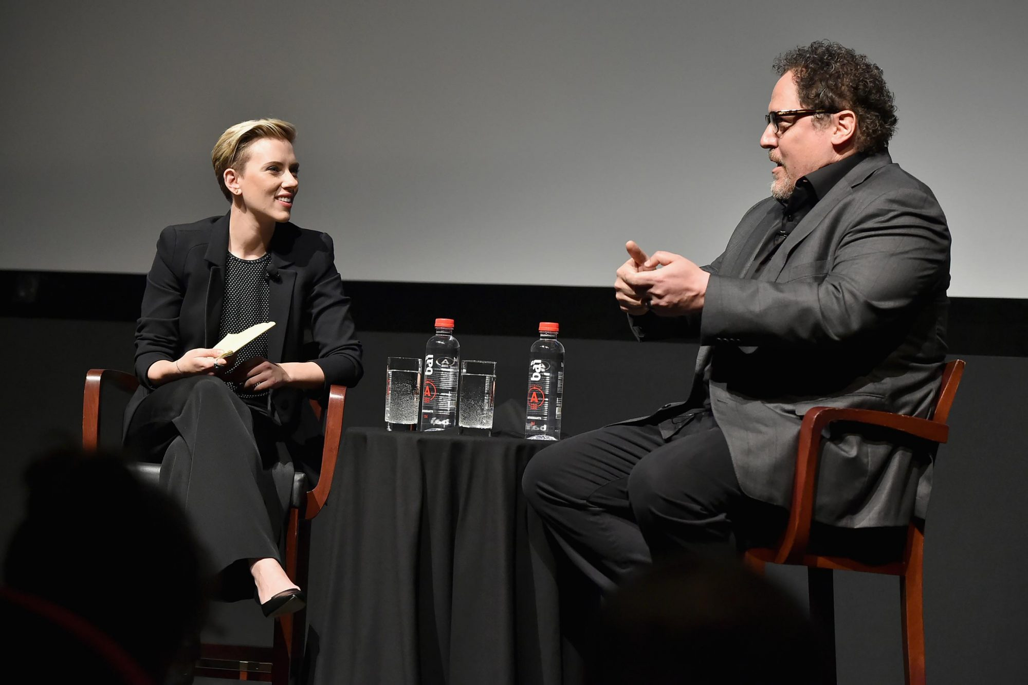 Tribeca Talks: Jon Favreau with Scarlett Johansson - 2017 Tribeca Film Festival