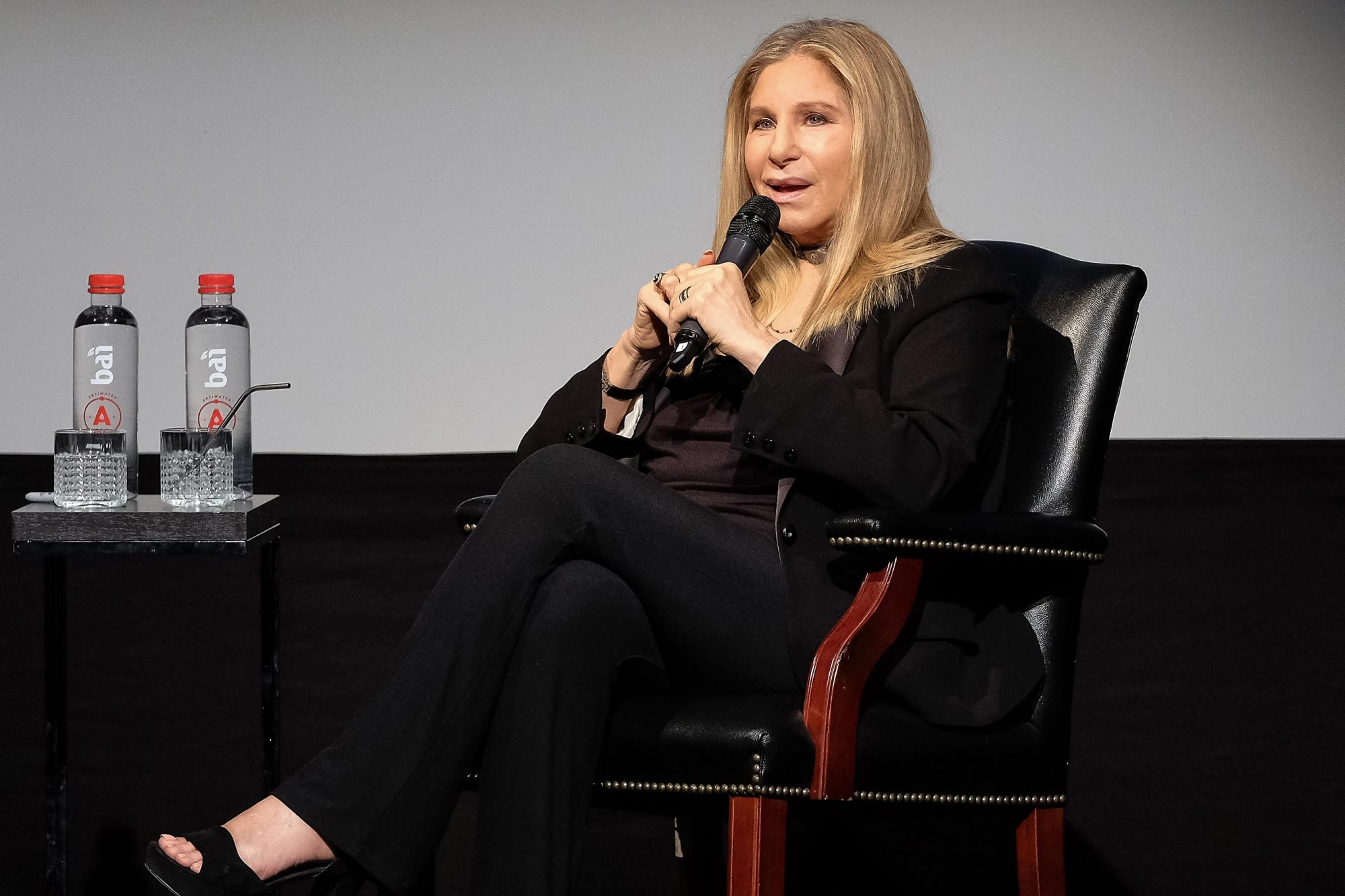 Tribeca Talks: Barbra Streisand With Robert Rodriguez - 2017 Tribeca Film Festival