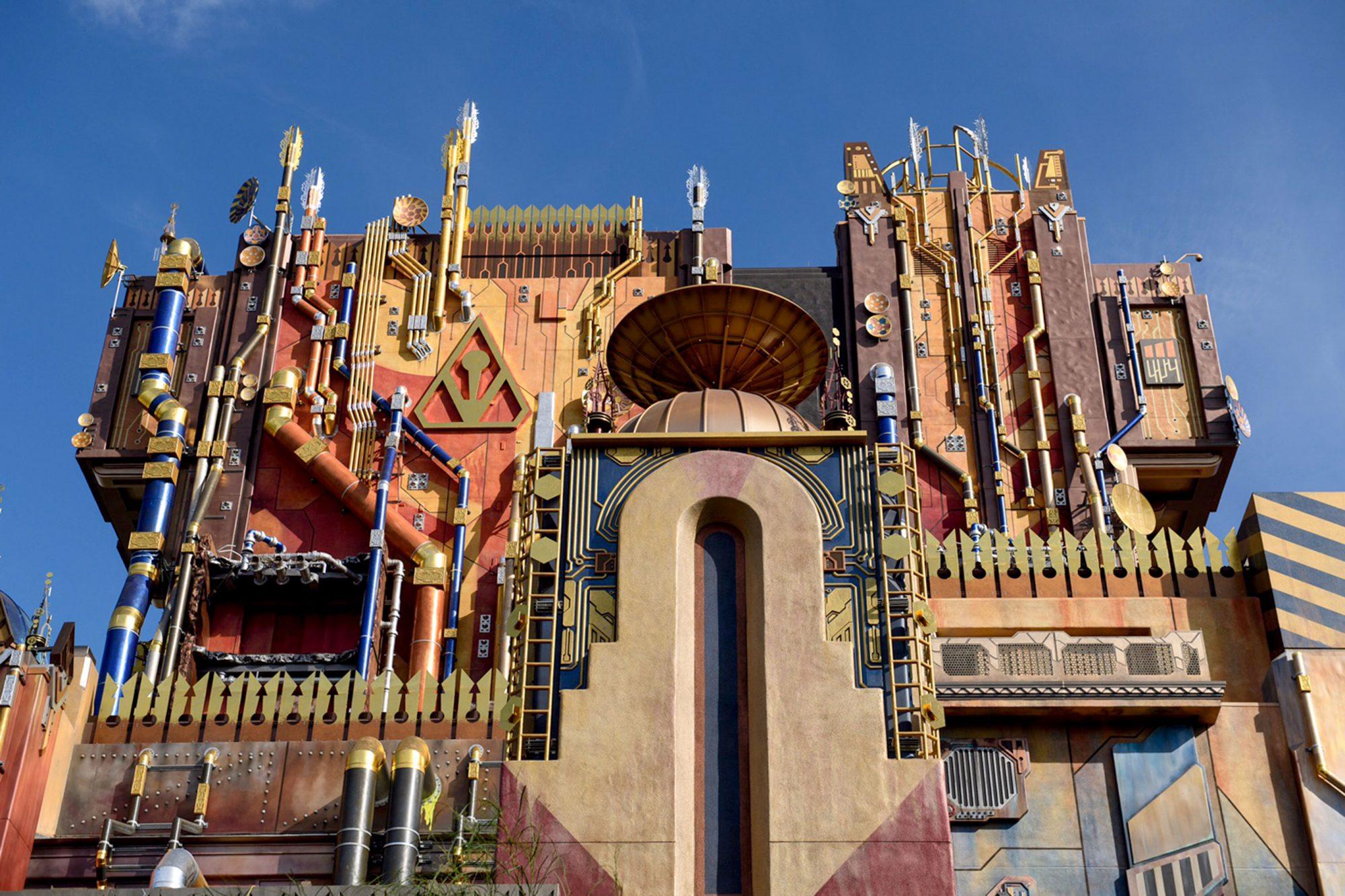 Guardians of the Galaxy Ride at Disneyland