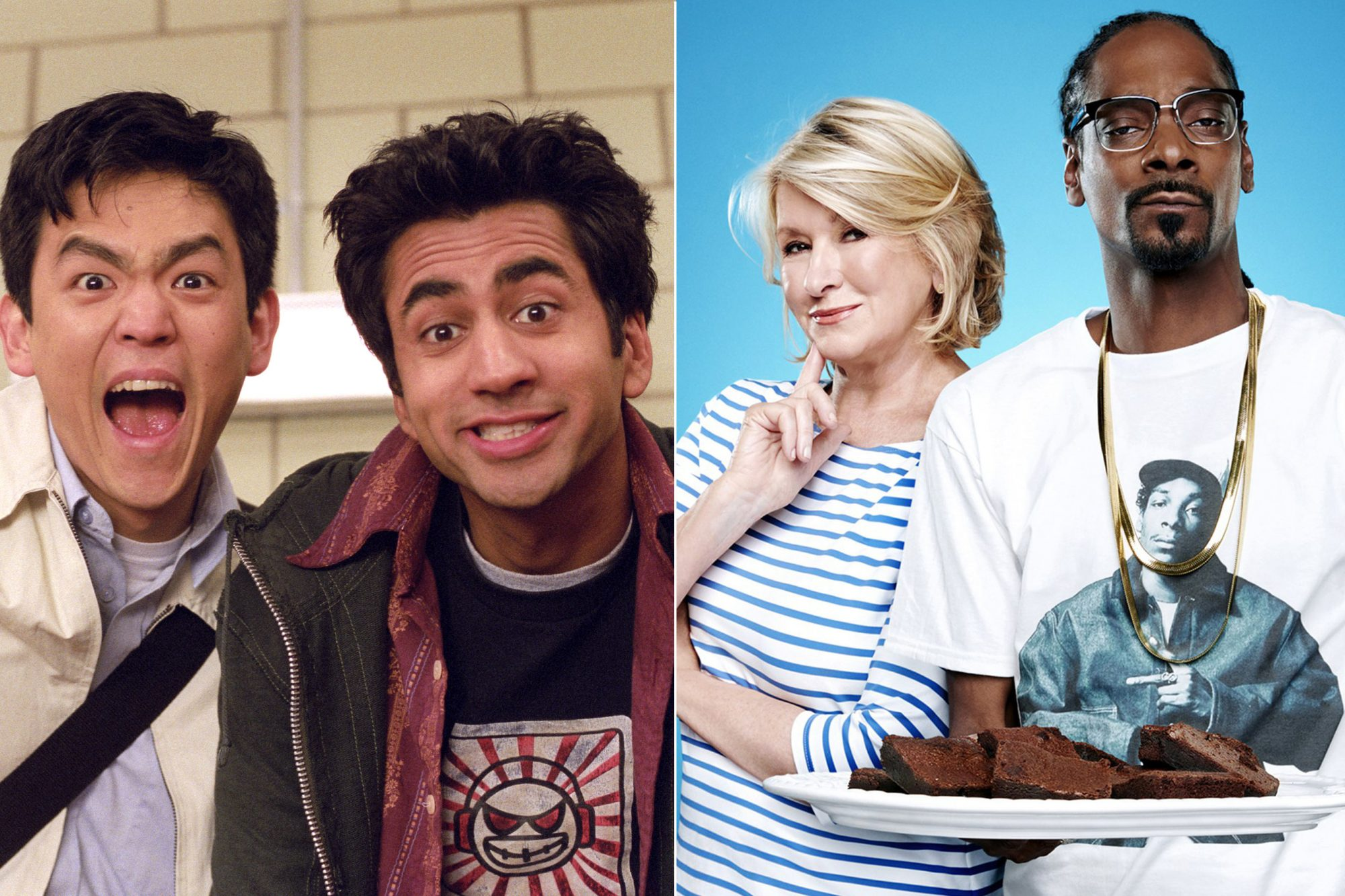 Harold and Kumar & Snoop Dogg and Martha Stewart