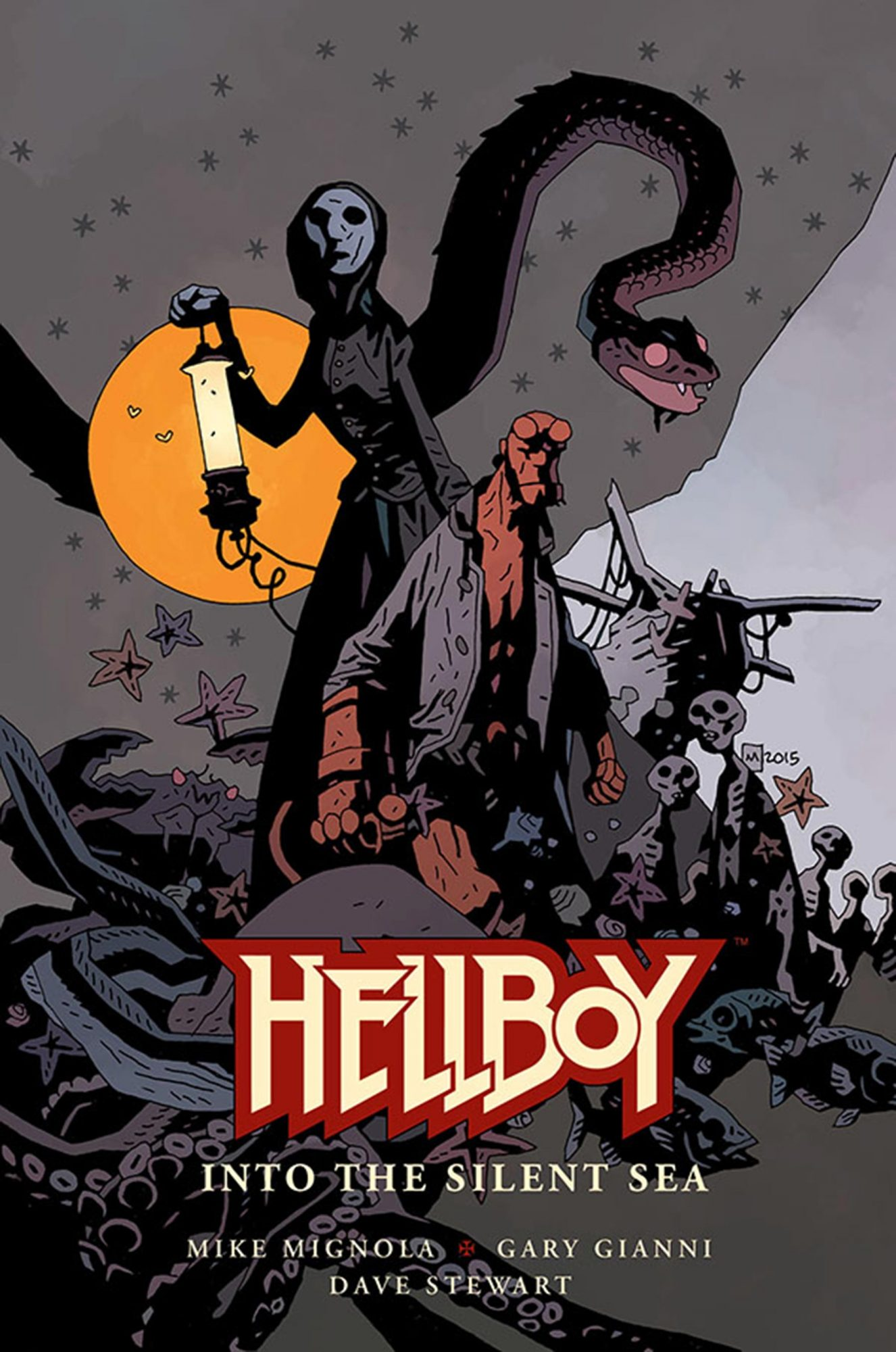 Hellboy Into the Silent Sea comic