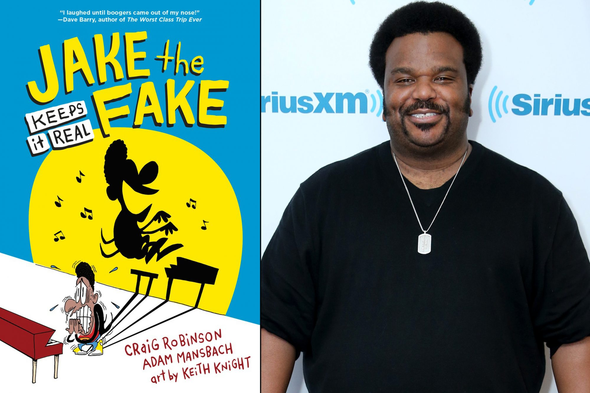 Jake the Fake by Craig Robinson