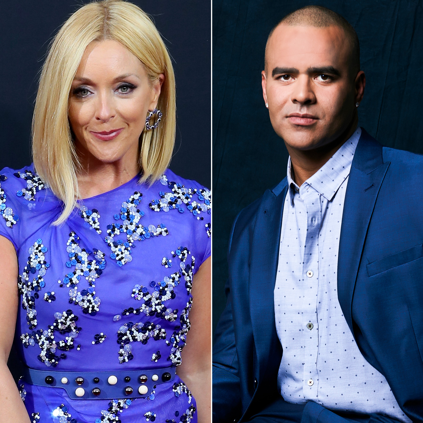 Jane Krakowski and Christopher Jackson