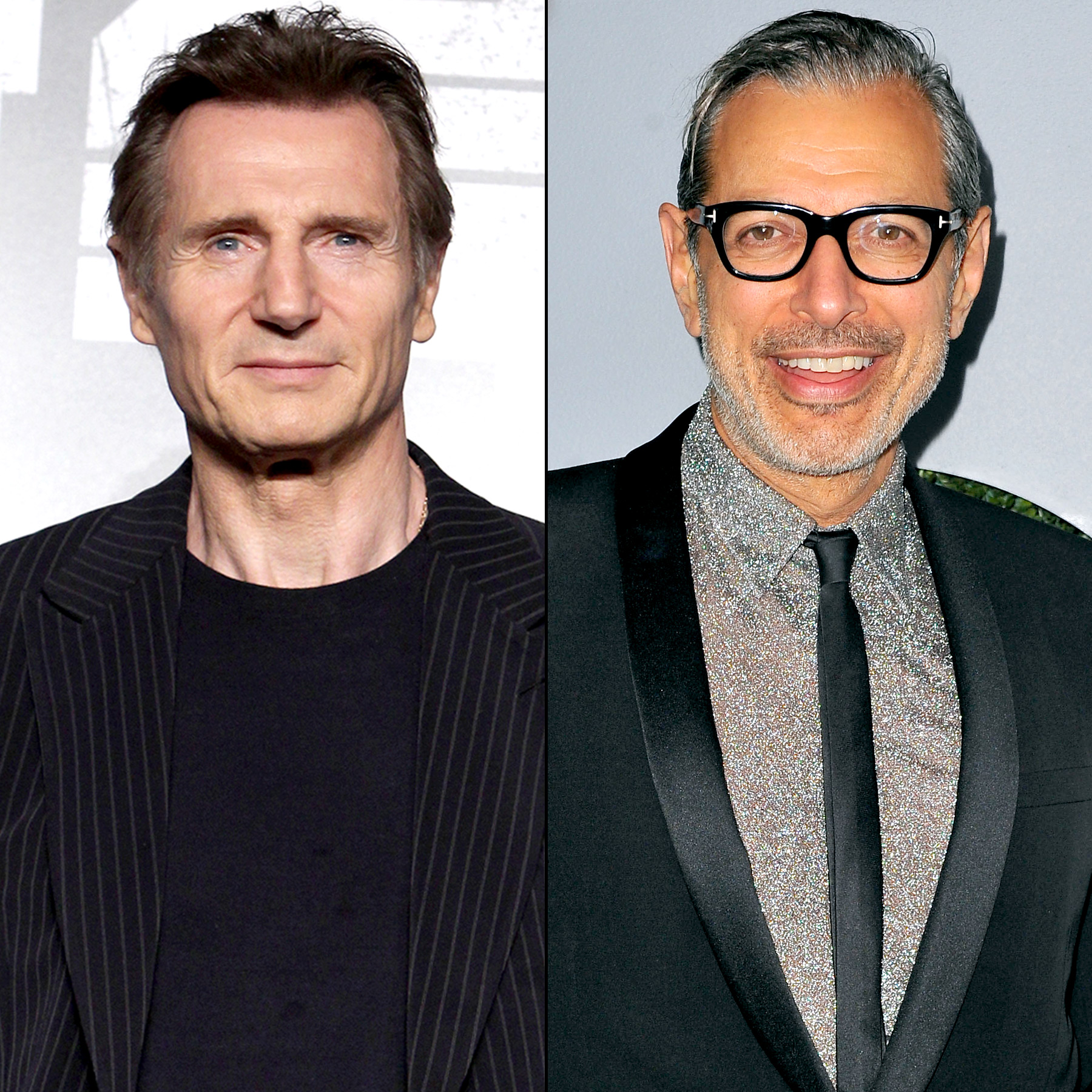 Jeff Goldblum and Liam Neeson