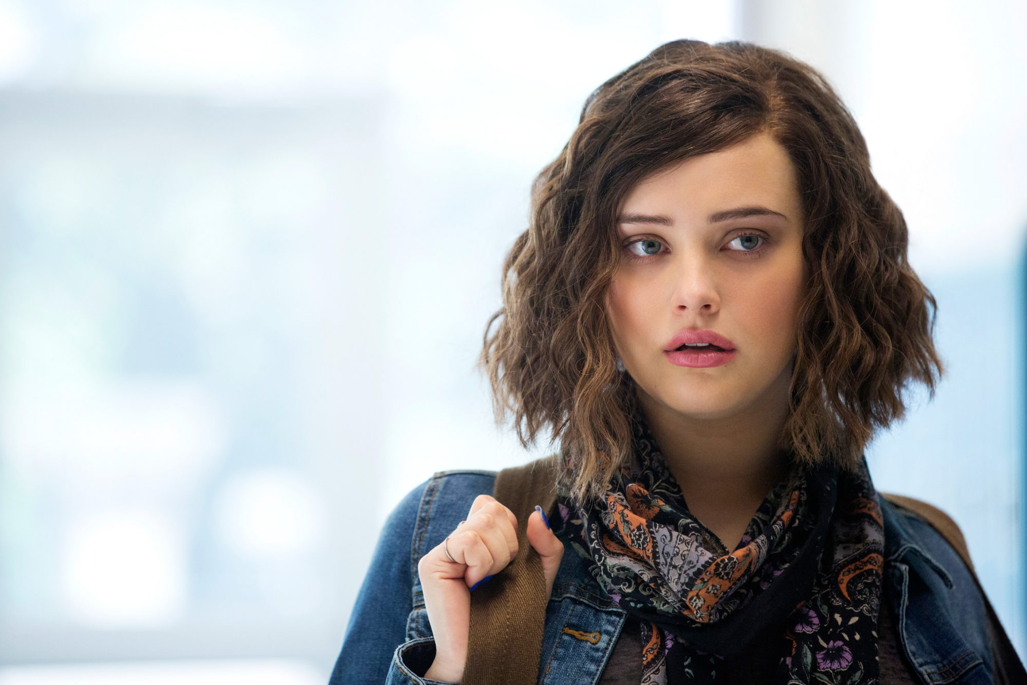 Katherine Langford as Hannah Baker