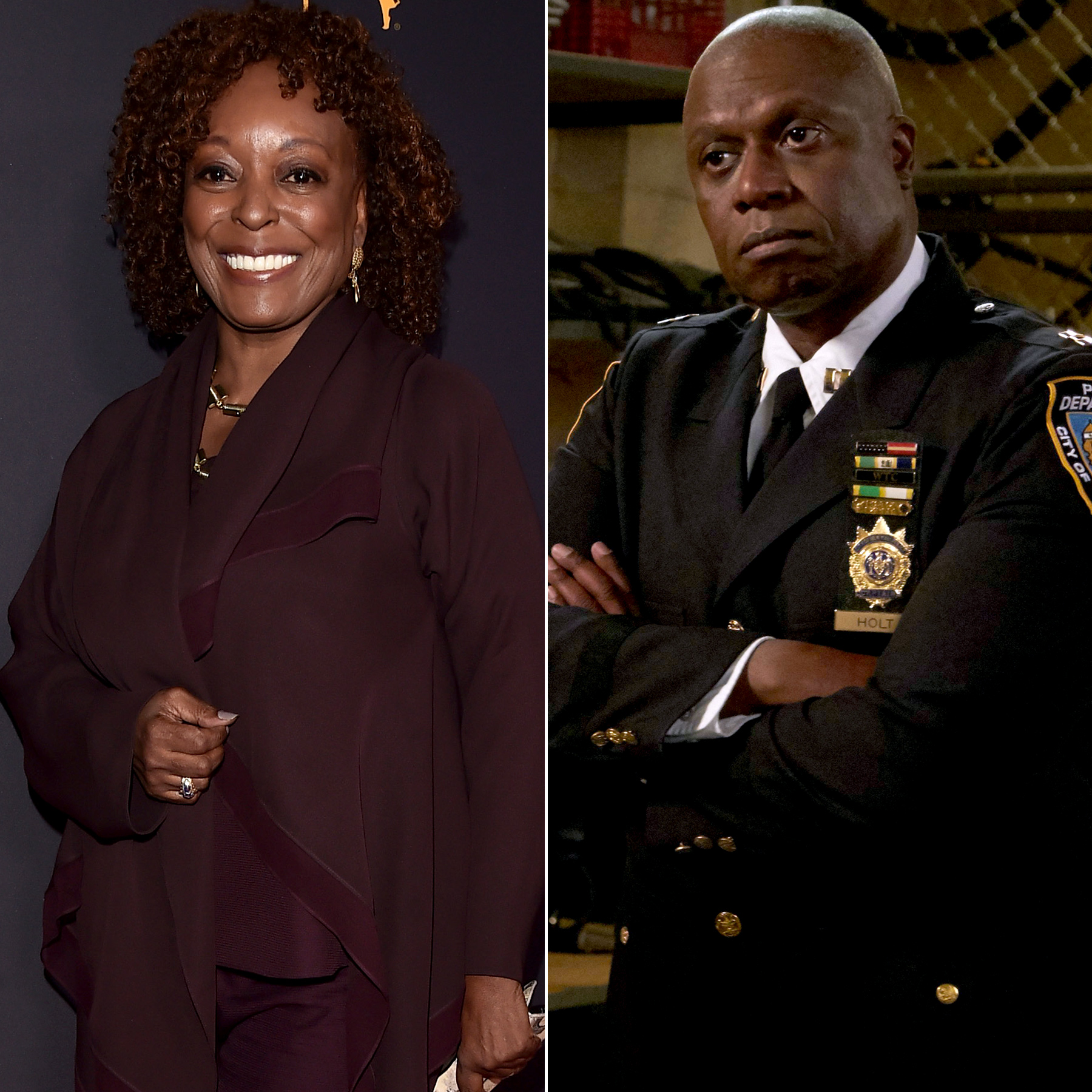L. Scott Caldwell and Andre Braugher
