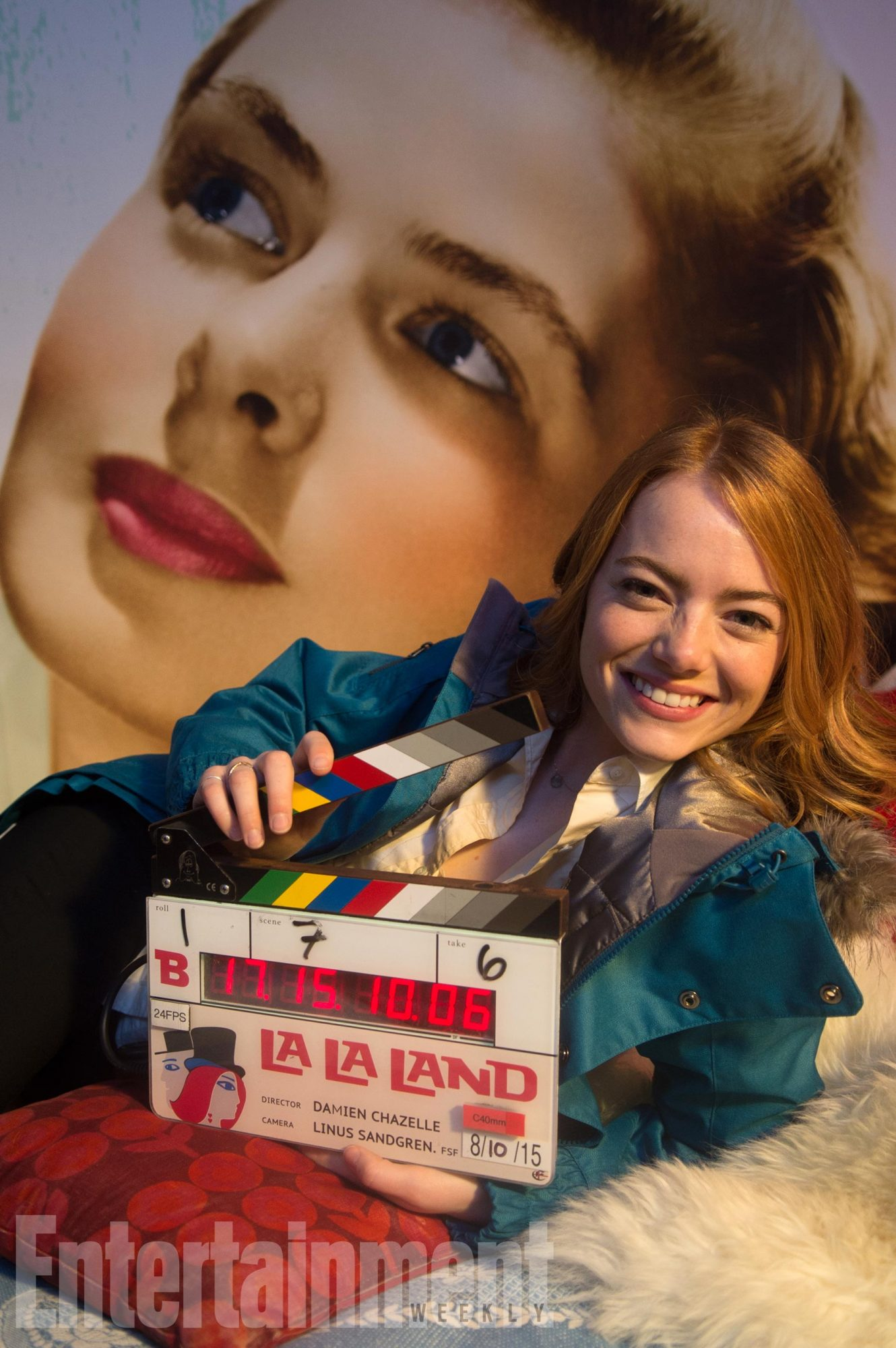 La La Land Behind the Scenes Exclusive still, Emma Stone Credit: Lionsgate