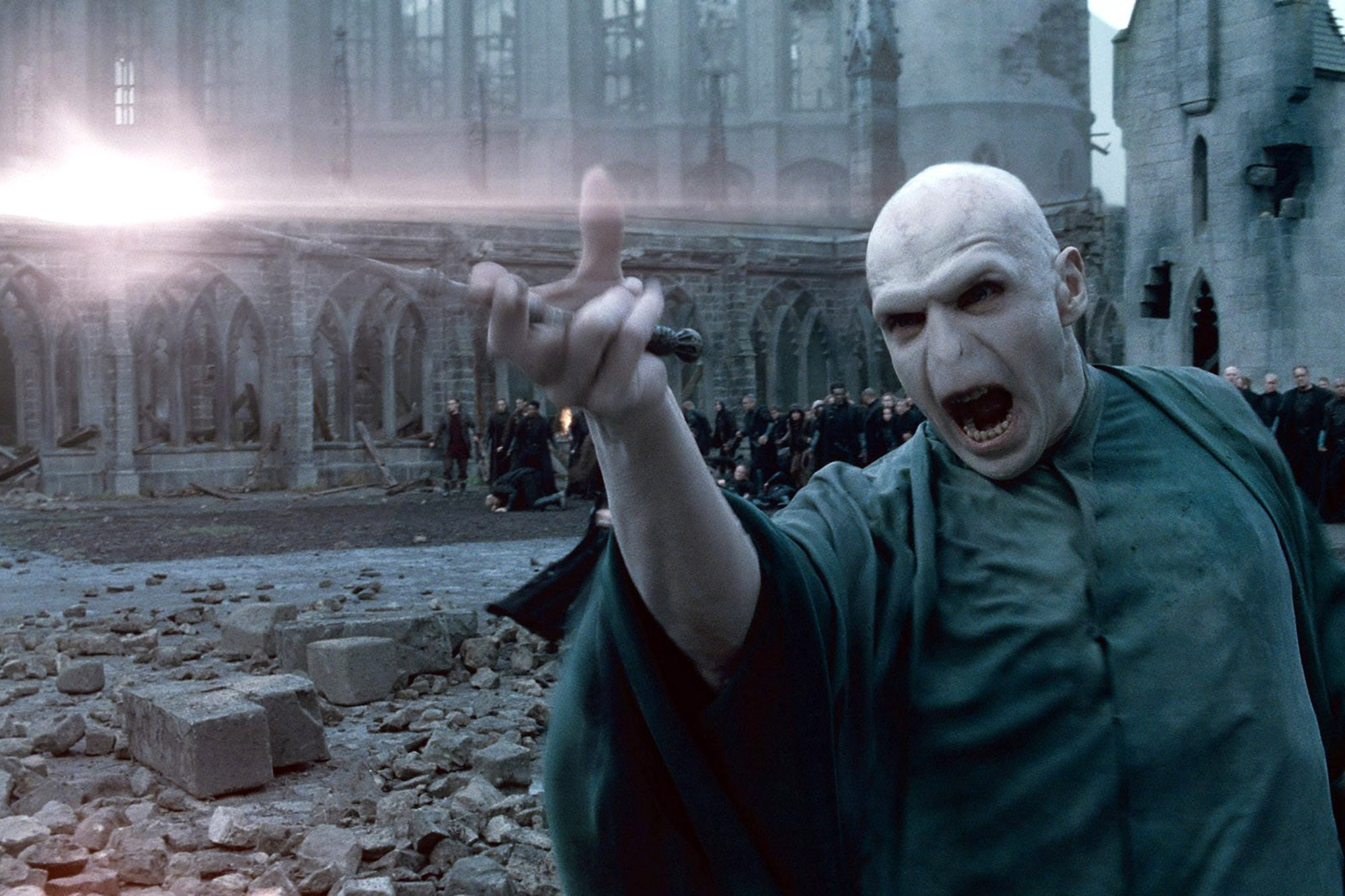 HARRY POTTER AND THE DEATHLY HALLOWS: PART 2, Ralph Fiennes, 2011. ©2011 Warner Bros. Ent. Harry Pot