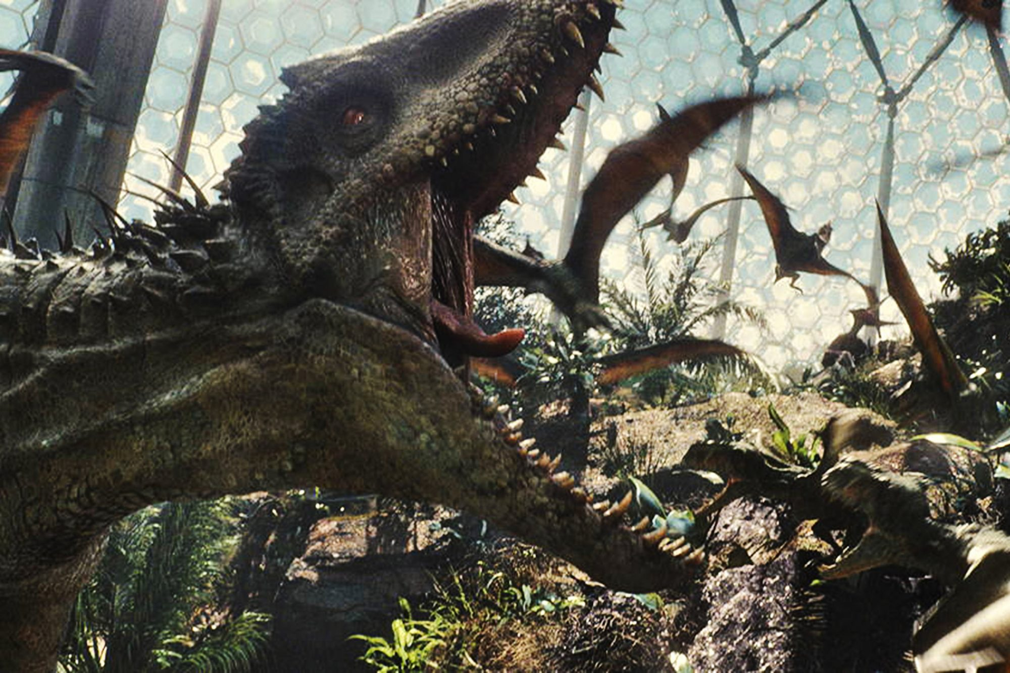 JURASSIC WORLD, 2015. /Industrial Light & Magic/©Universal Pictures/courtesy Everett Collection