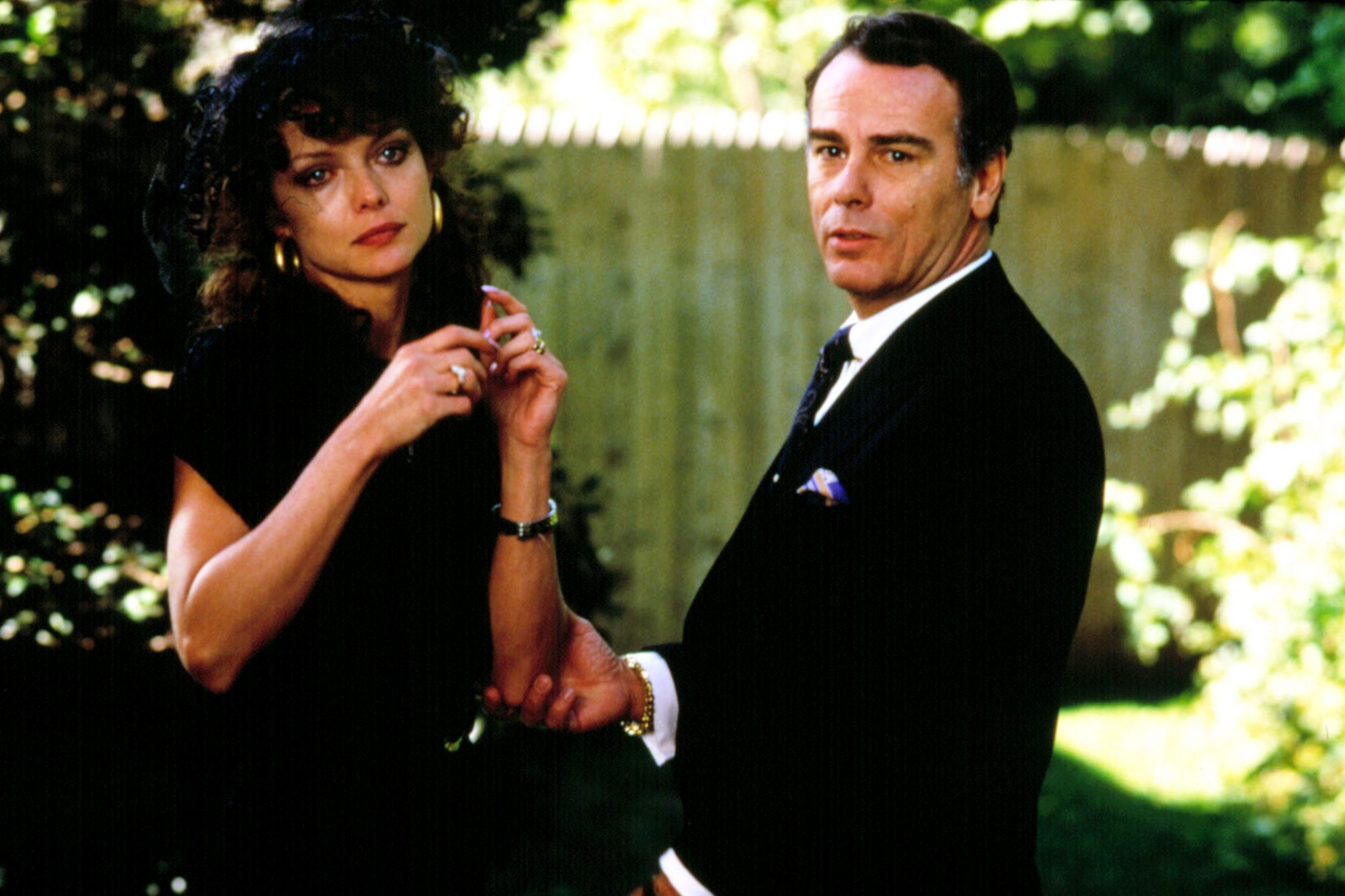 MARRIED TO THE MOB, Michelle Pfeiffer, Dean Stockwell, 1988, (c) Orion/courtesy Everett Collection
