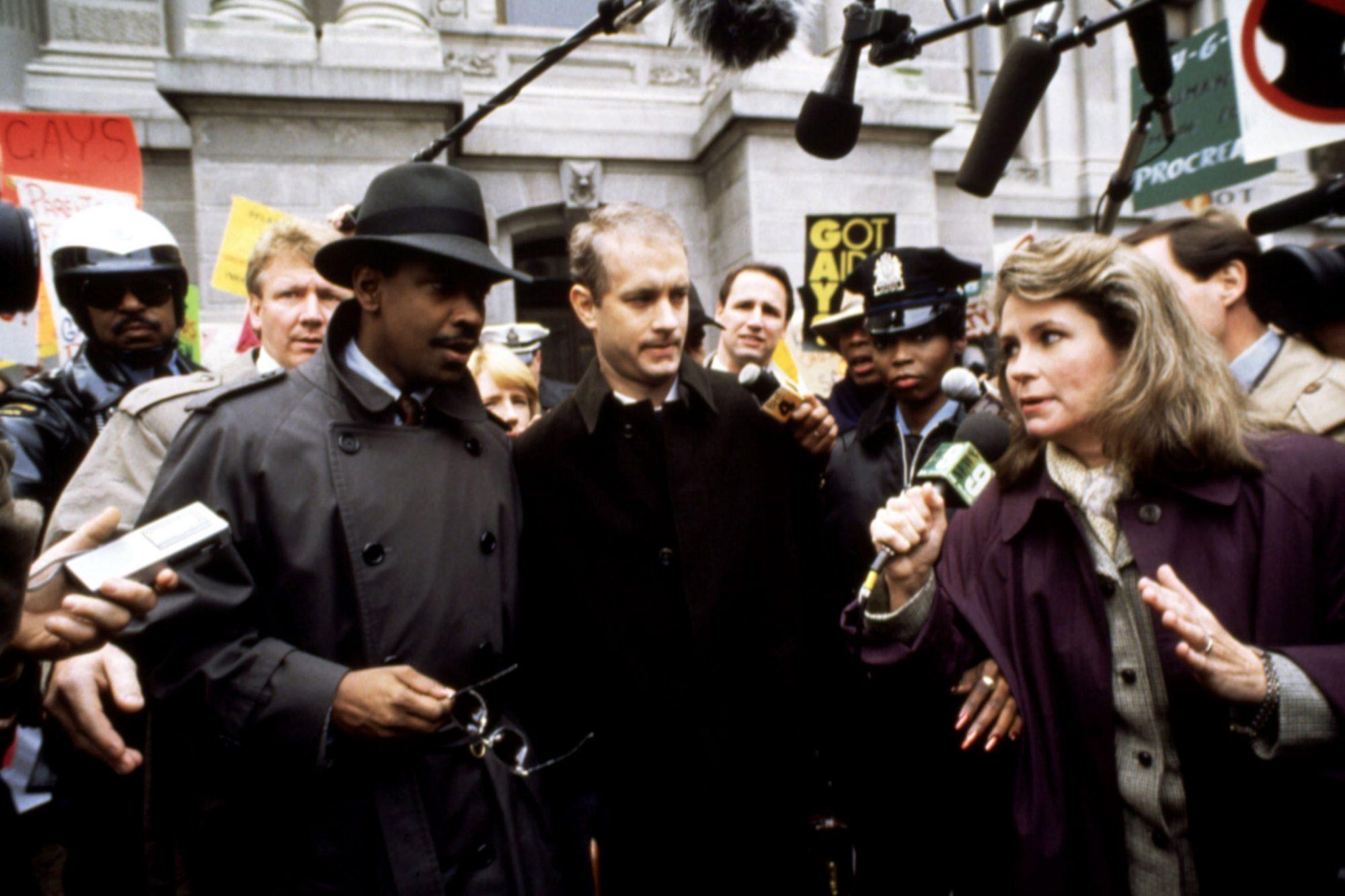 PHILADELPHIA, Denzel Washington, Tom Hanks, 1993