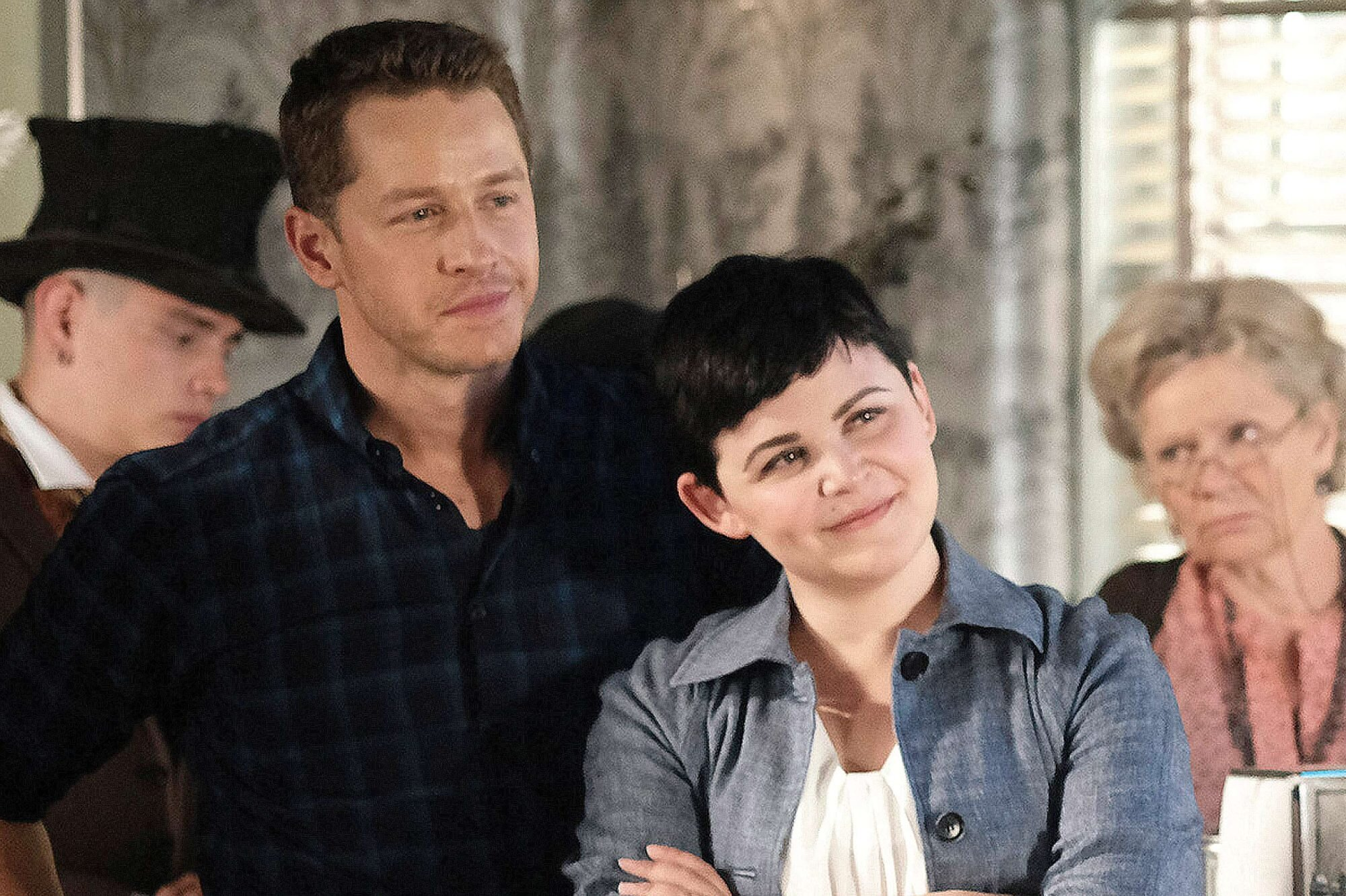 Once Upon a Time stars on Snow and Charming twist | EW.com