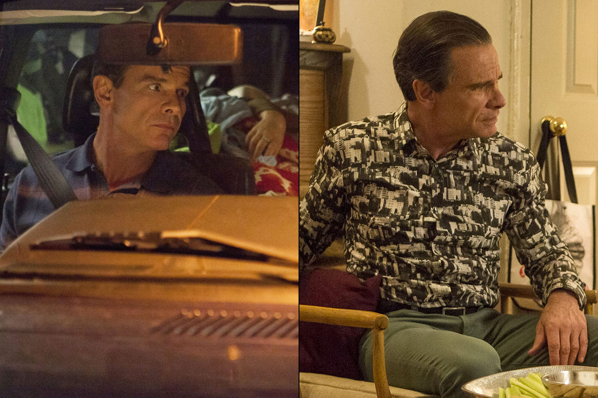 Peter Scolari as Tad Horvath in Season 1; Peter Scolari as Tad Horvath in Season 6