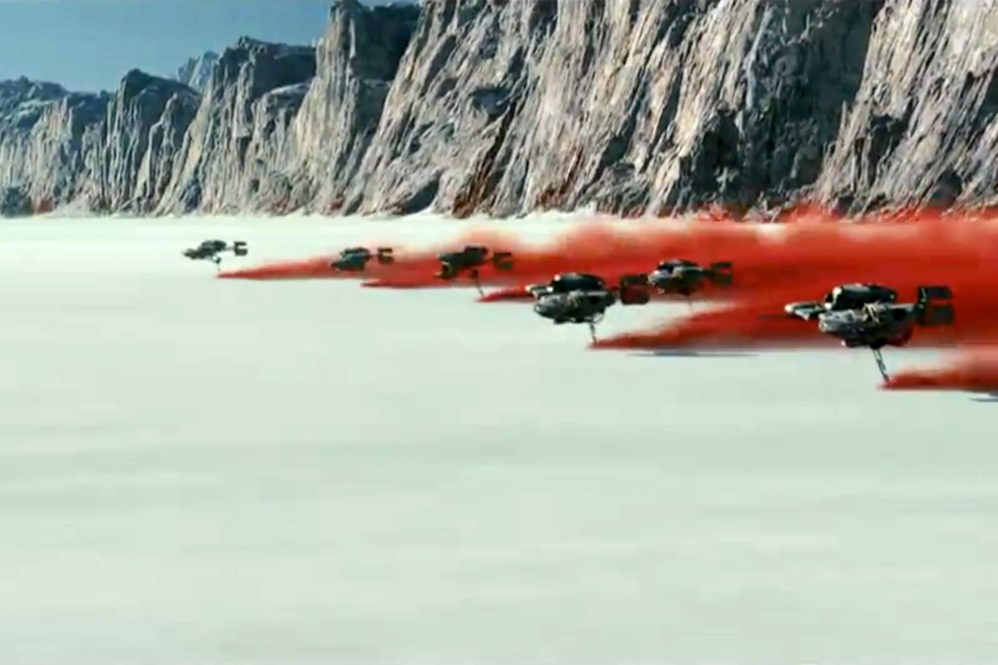 Star Wars Episode VIII The Last Jedi screen grab