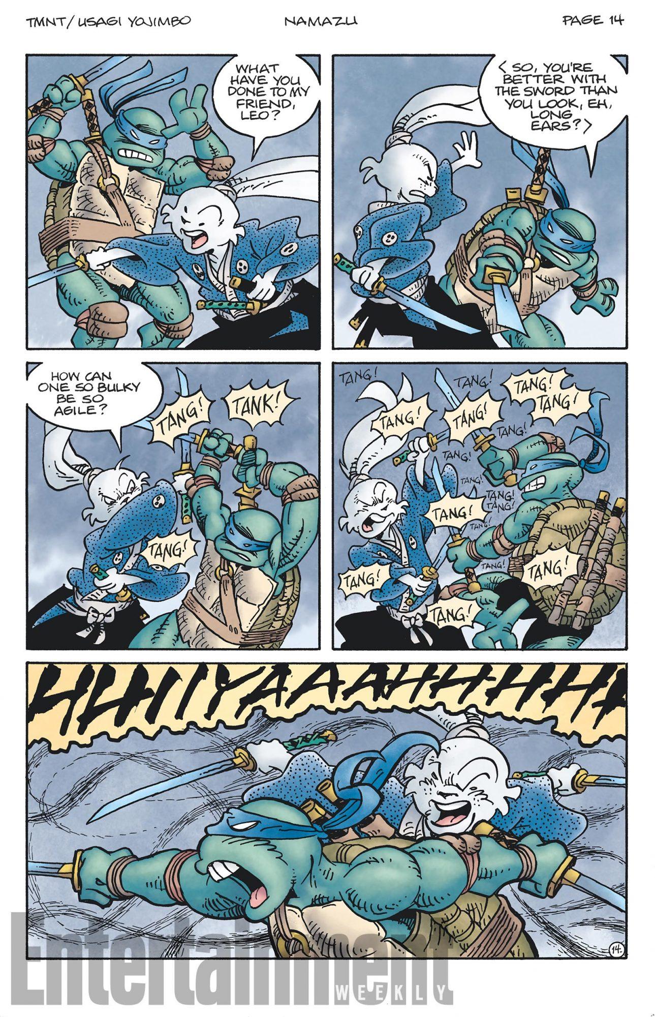 Usagi Yojimbo/TMNT crossover