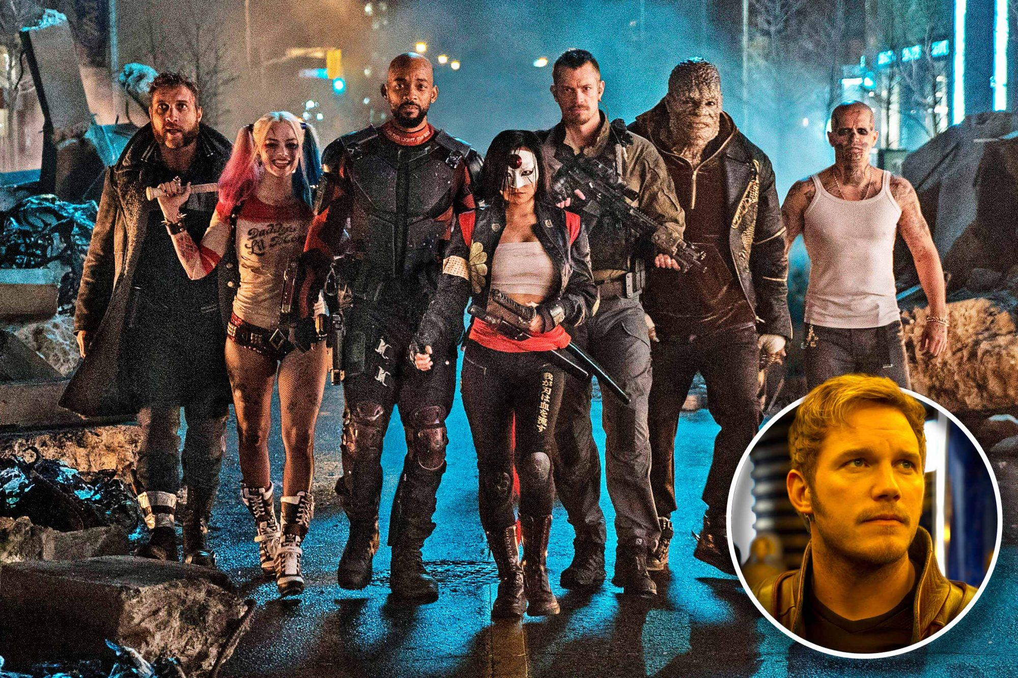 Suicide Squad and Guardians of the Galaxy 2